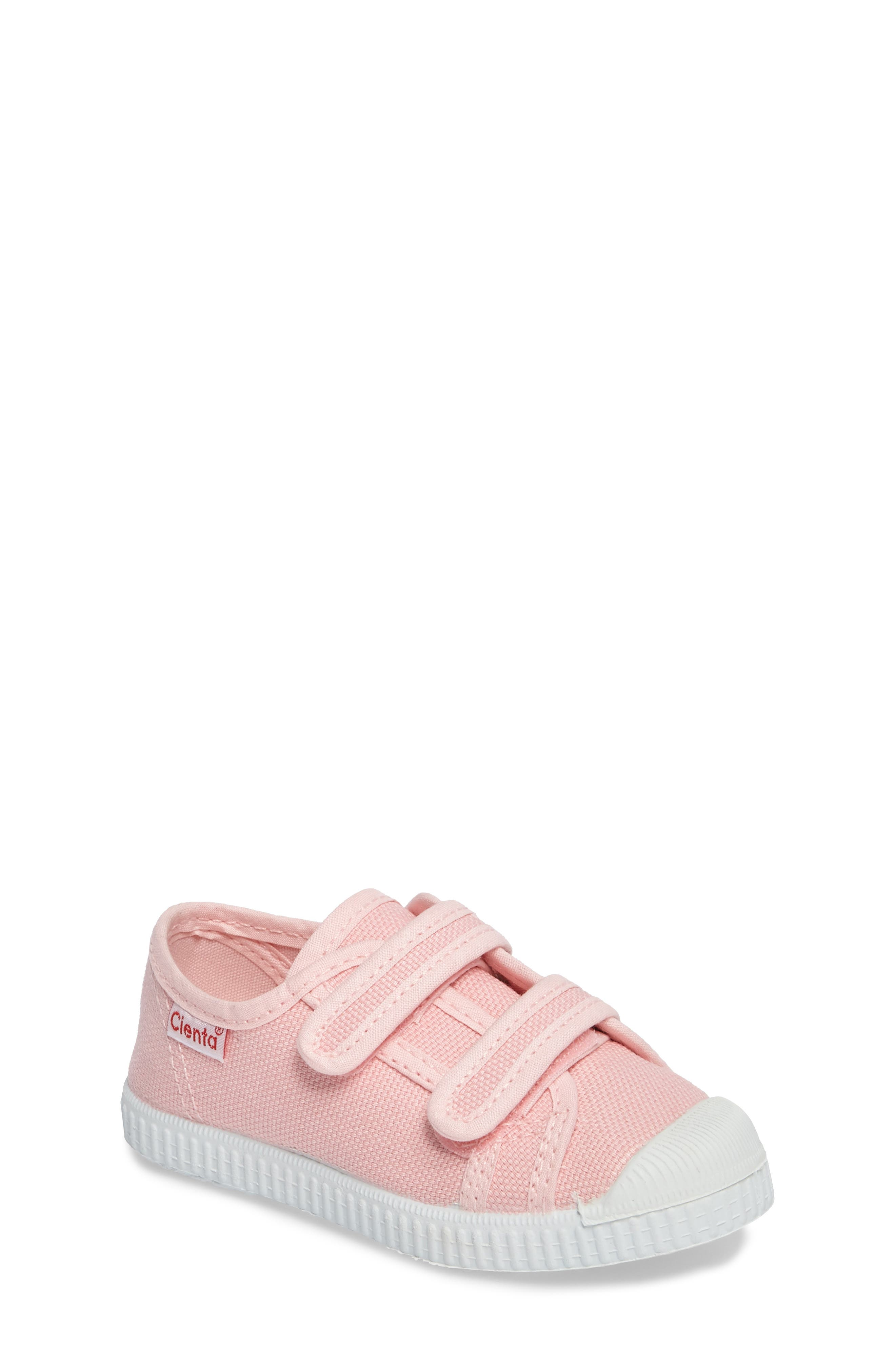 Alternate Image 1 Selected - Cienta Canvas Sneaker (Walker & Toddler)