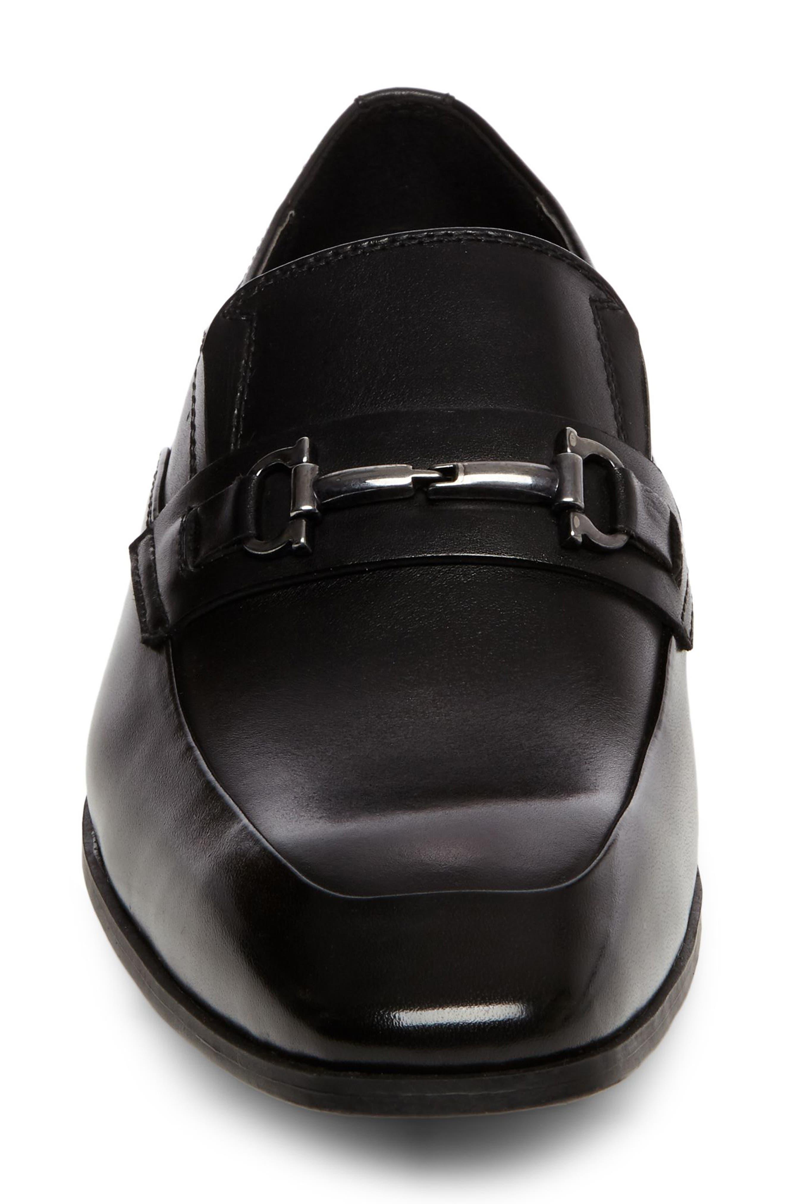 Mendal Bit Loafer,                             Alternate thumbnail 4, color,                             Black