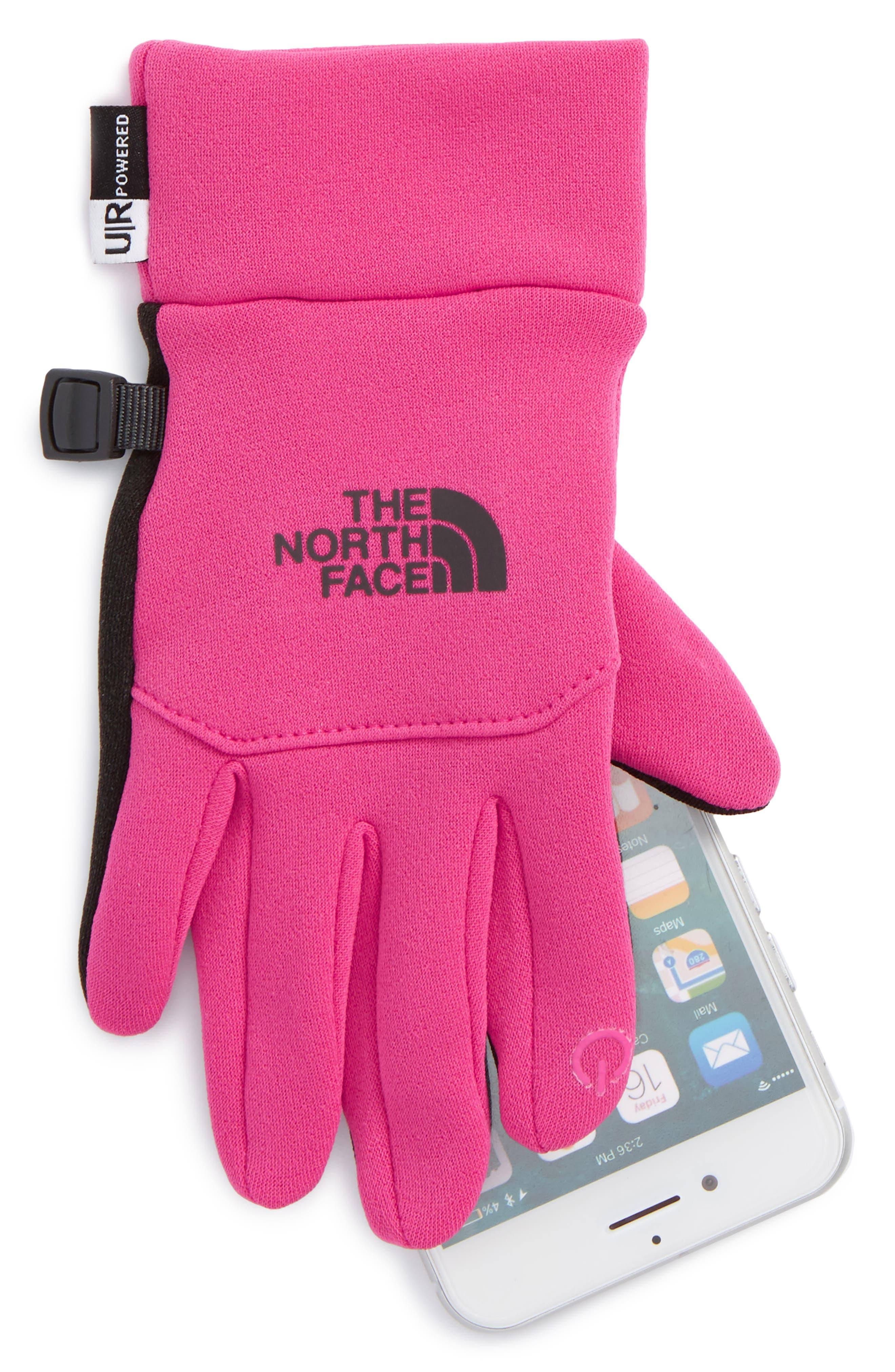 E-Tip Gloves,                             Alternate thumbnail 2, color,                             Petticoat Pink