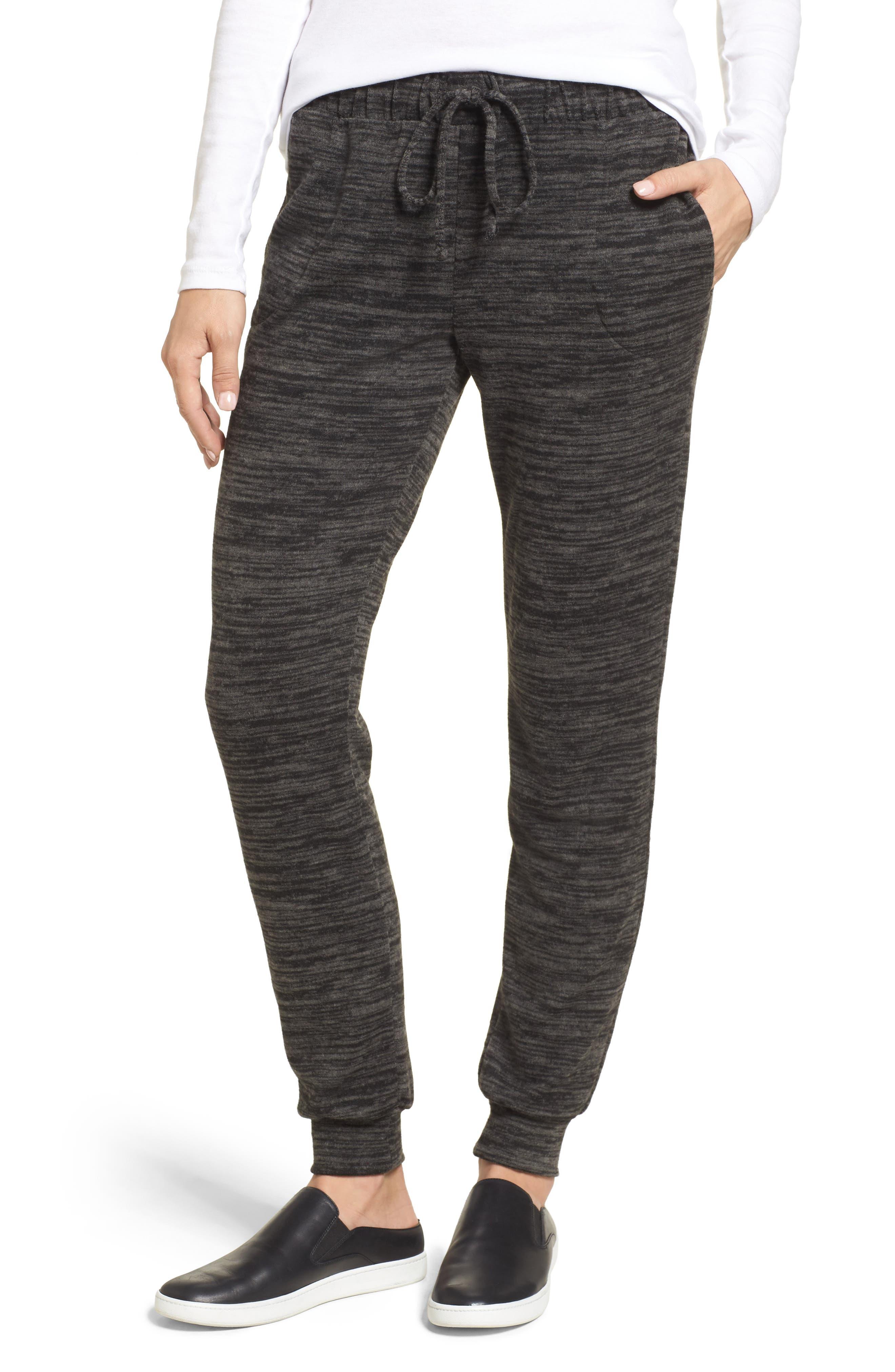 Cozy Jogger Pants,                         Main,                         color, Black