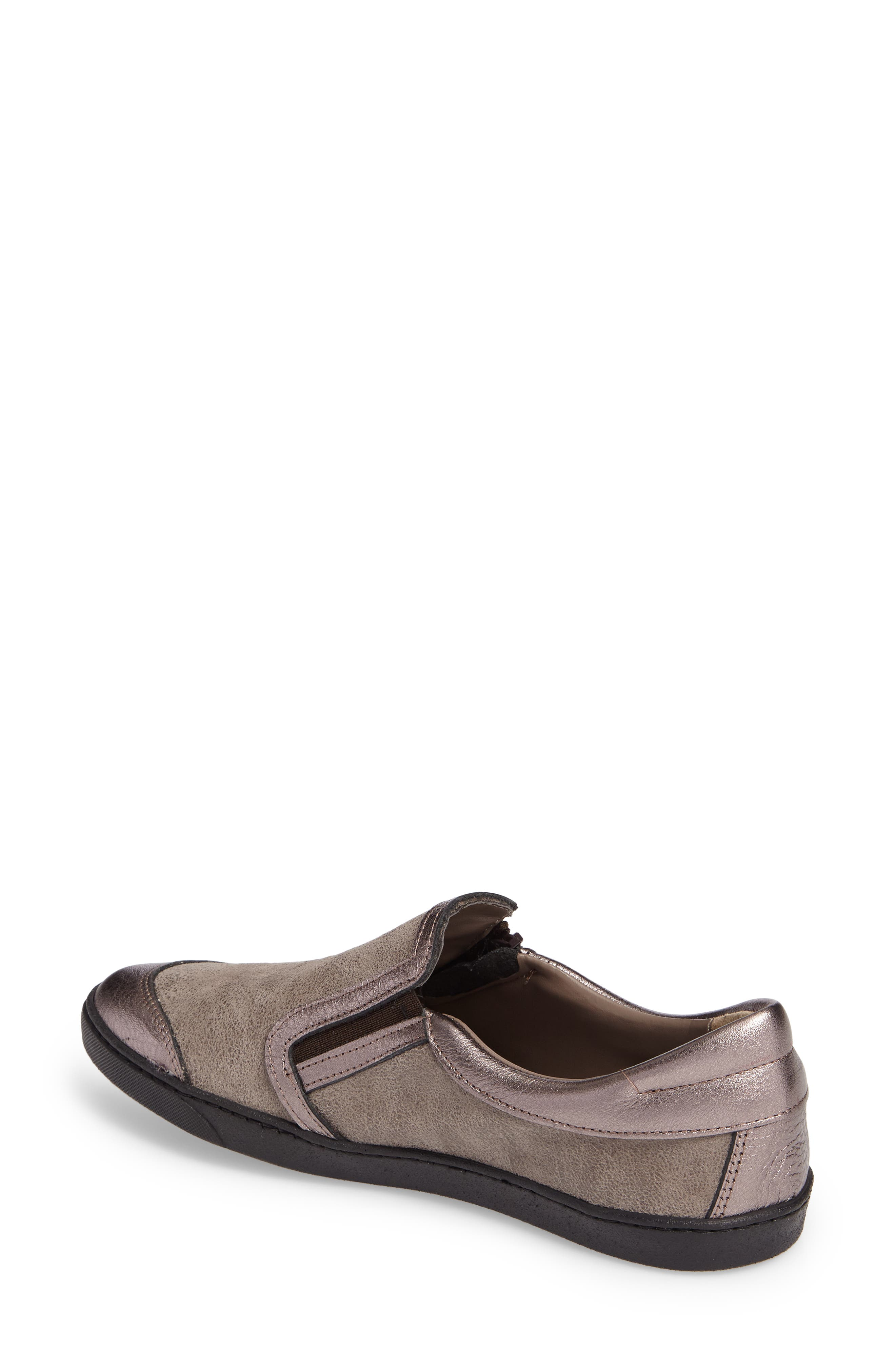 Fiorin Slip-On Sneaker,                             Alternate thumbnail 2, color,                             Taupe Fabric