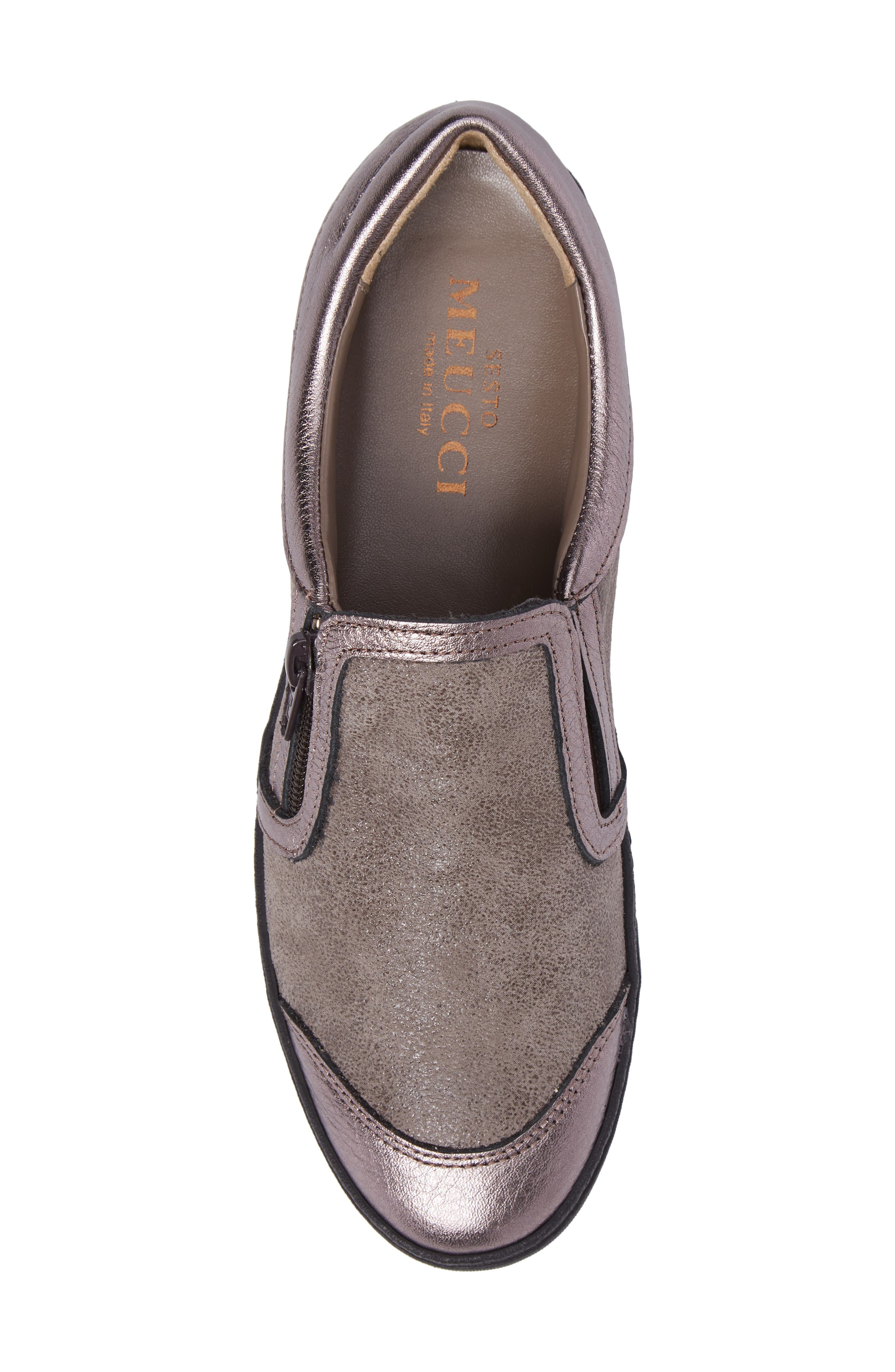 Fiorin Slip-On Sneaker,                             Alternate thumbnail 5, color,                             Taupe Fabric