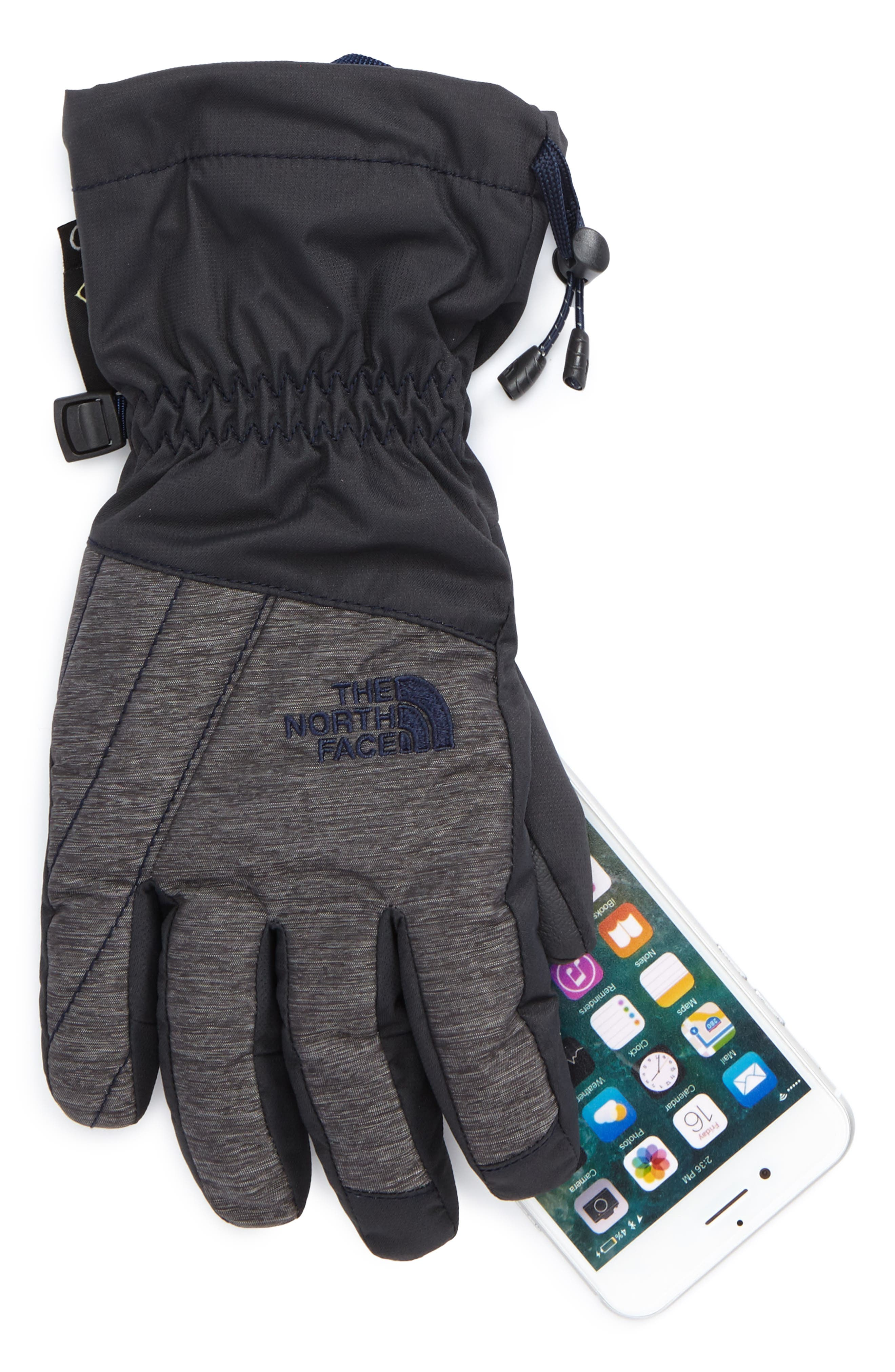 Alternate Image 2  - The North Face Montana Gore-Tex® Waterproof Gloves (Kids)