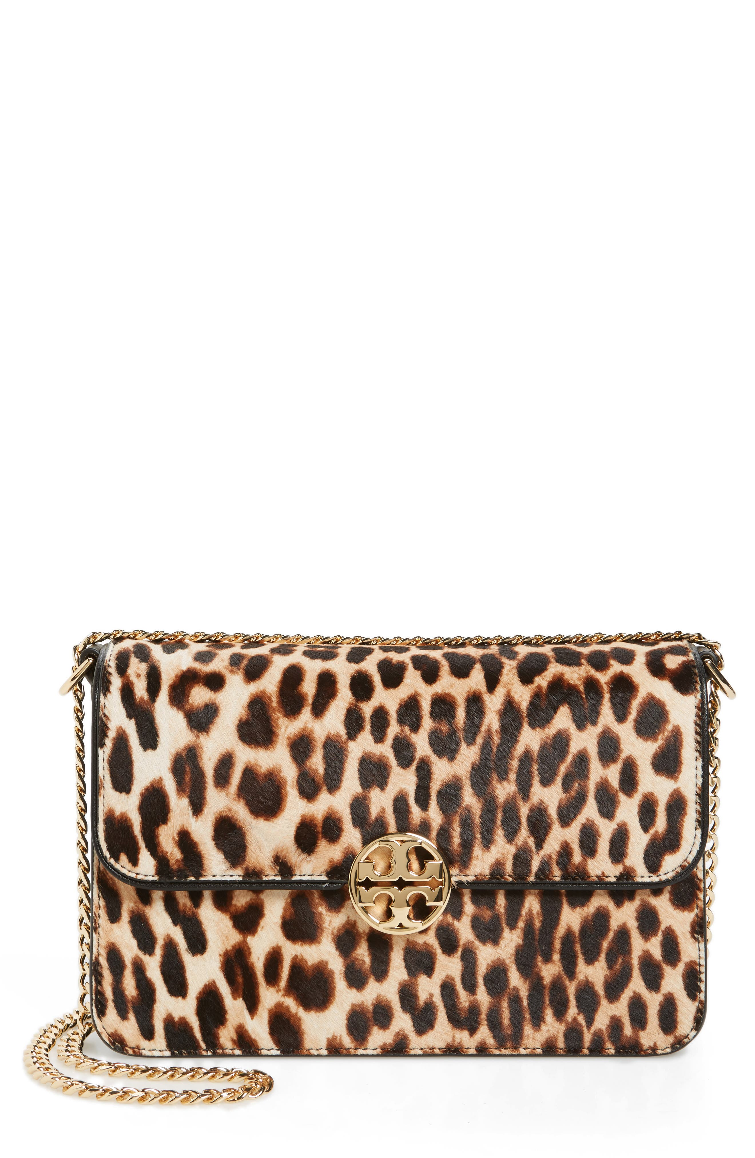 Main Image - Tory Burch Chelsea Genuine Calf Hair Shoulder Bag