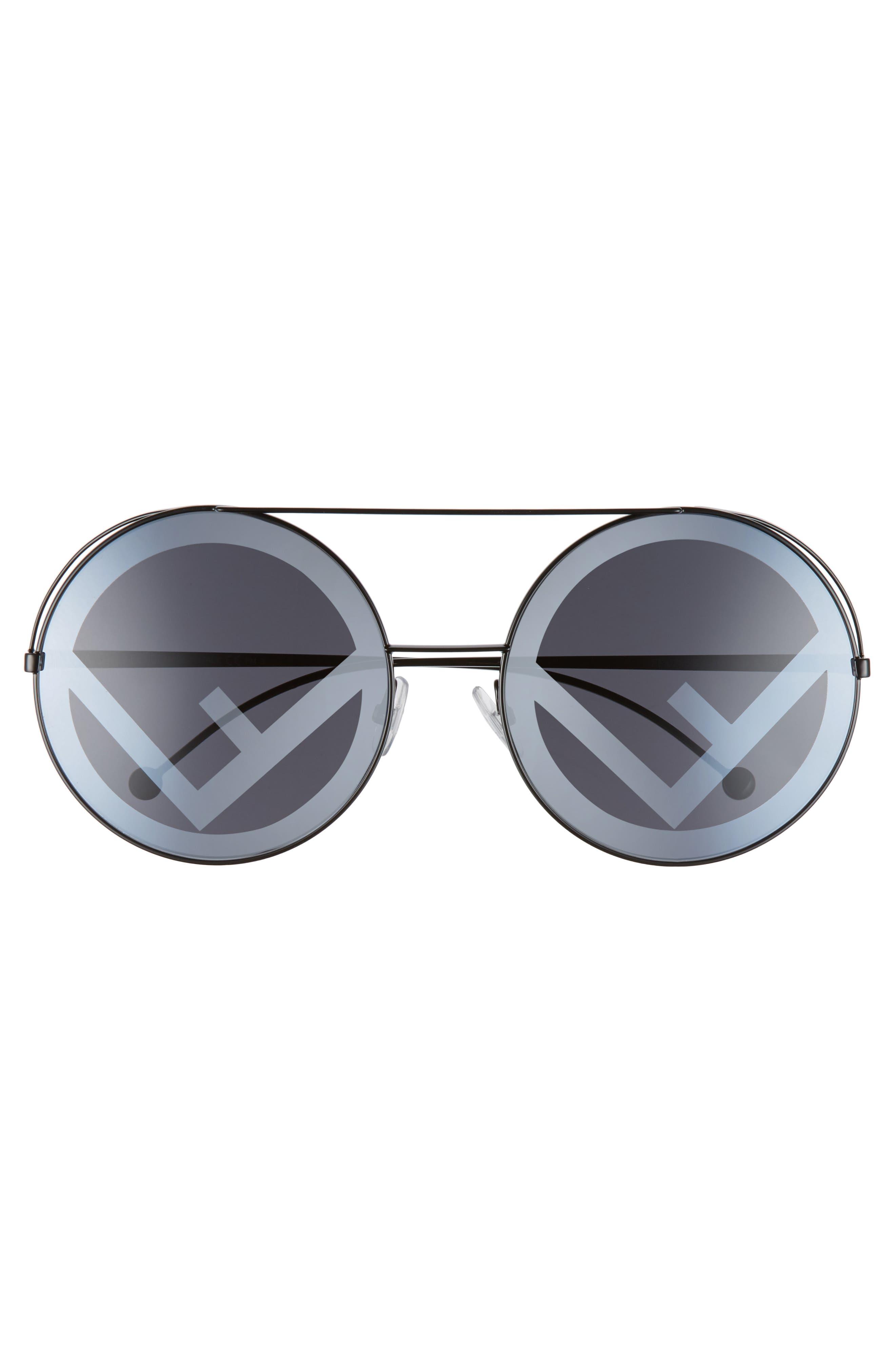 2985942f18bdc Fendi Round Logo Sunglasses