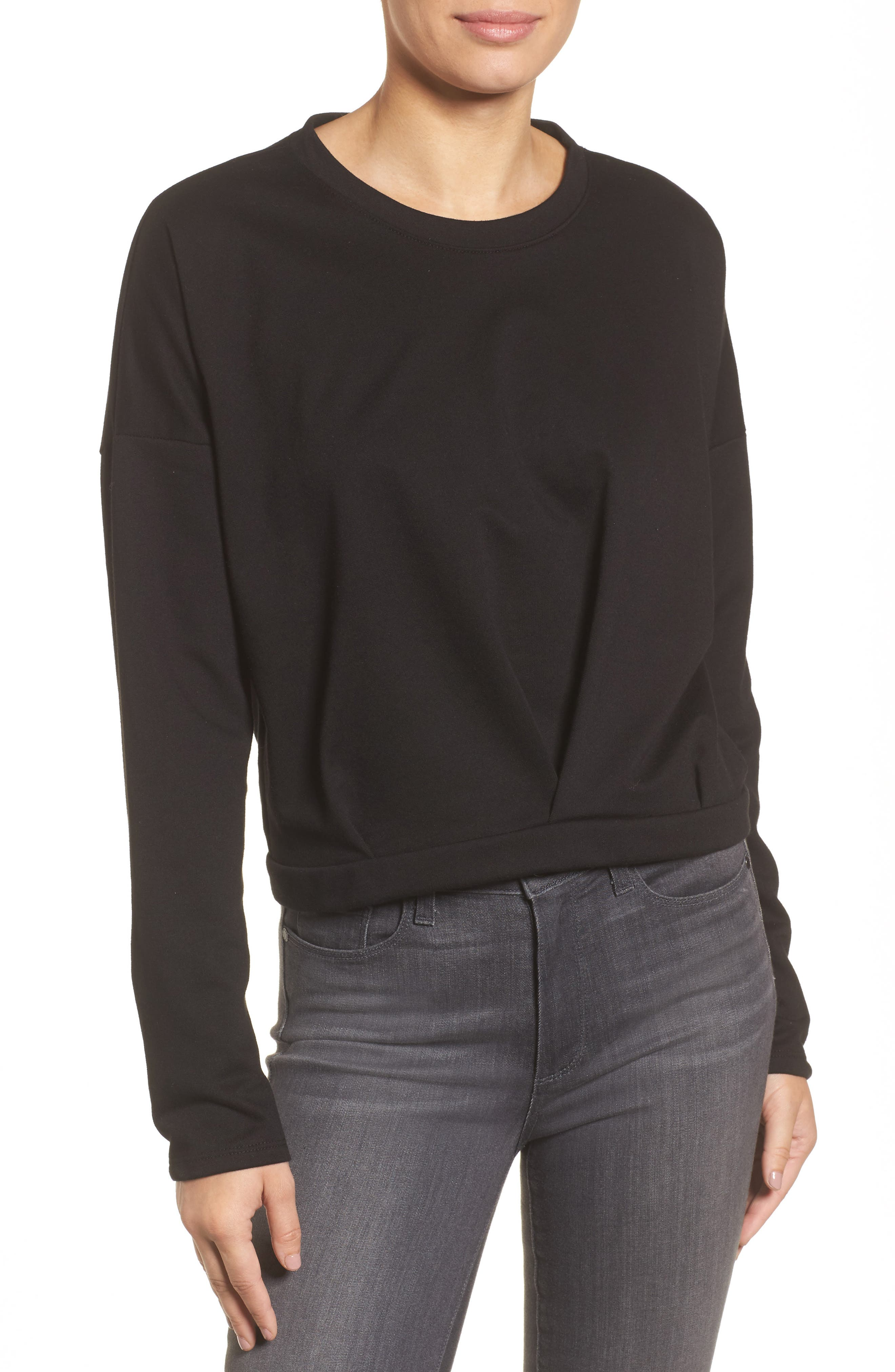 Alternate Image 1 Selected - Halogen® Pleat Front Top