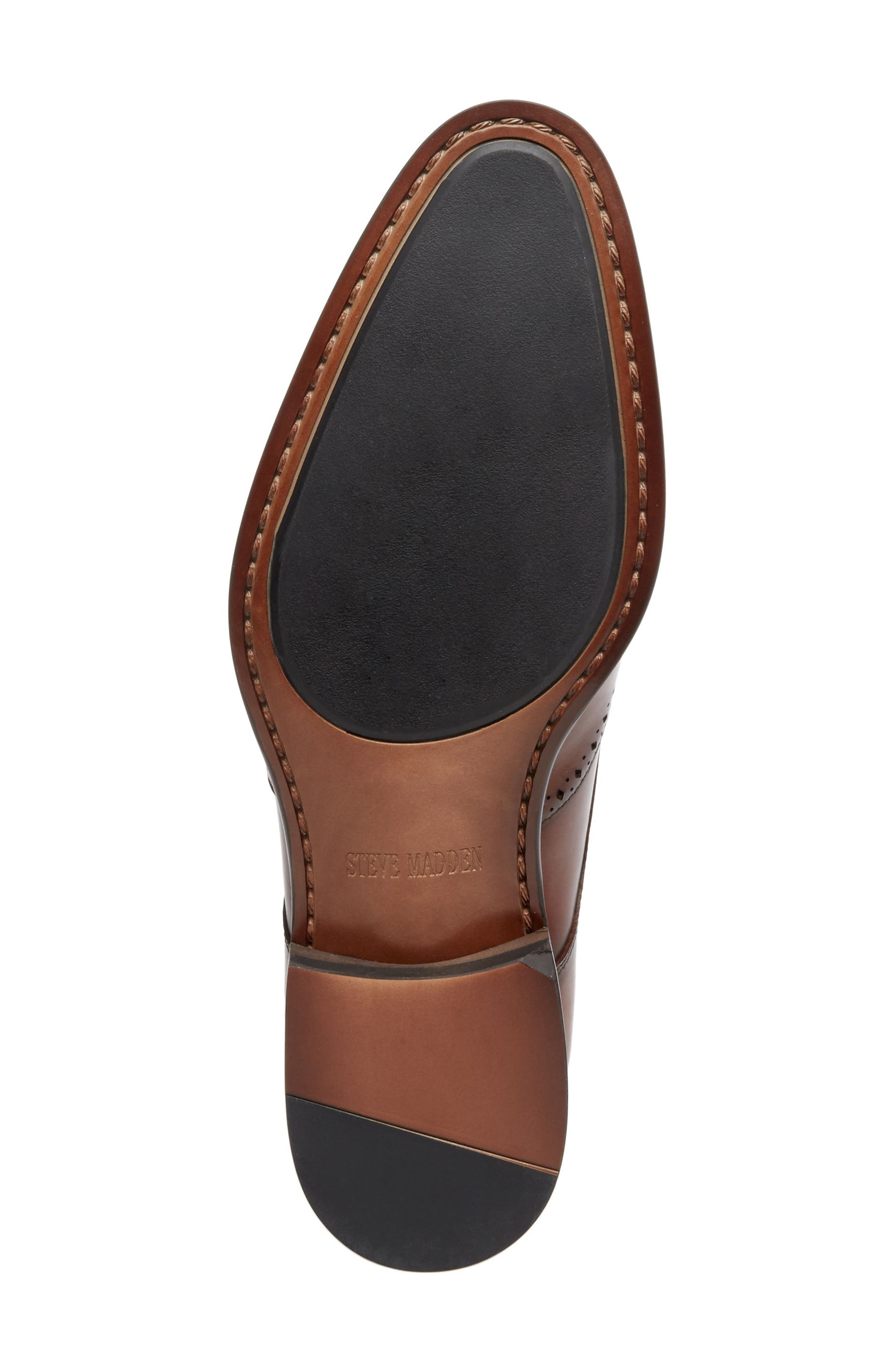 Candyd Wingtip,                             Alternate thumbnail 6, color,                             Brown Leather
