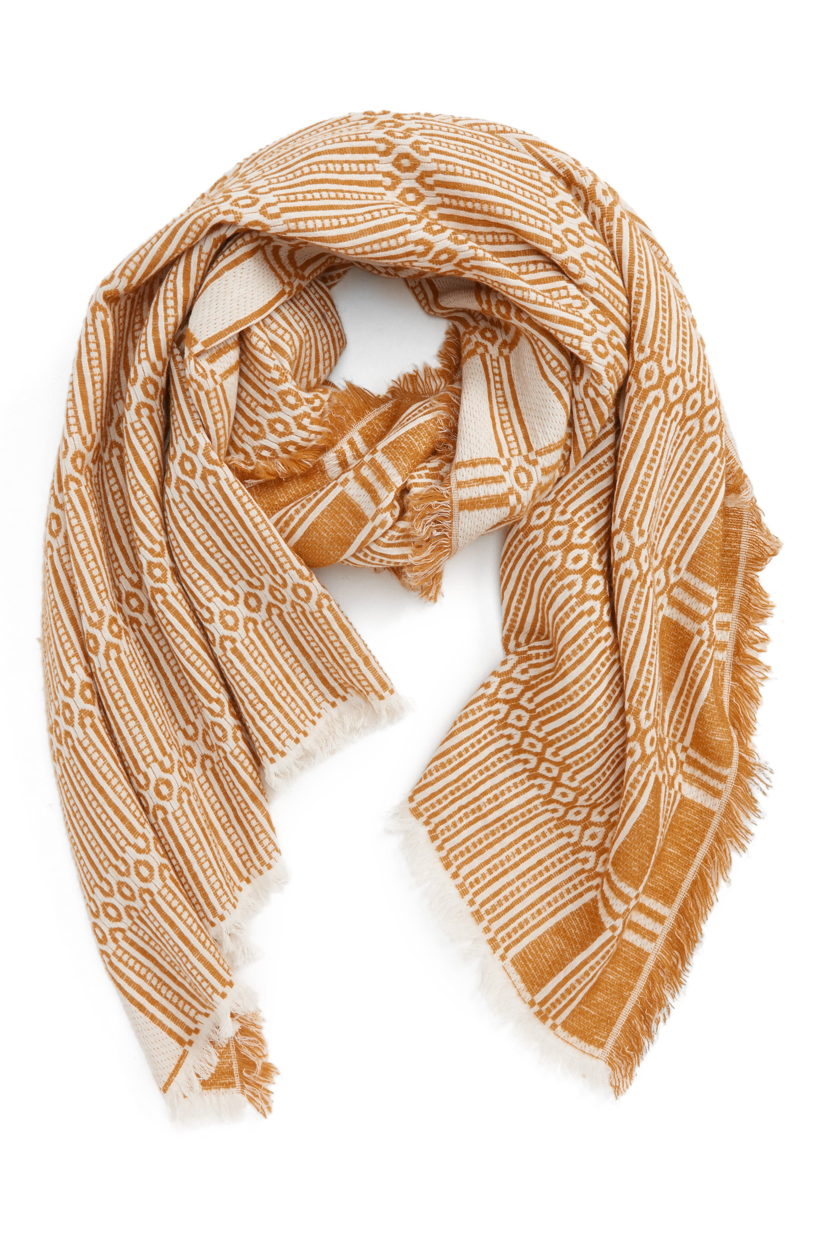 Alternate Image 1 Selected - Madewell Texture Fringe Scarf