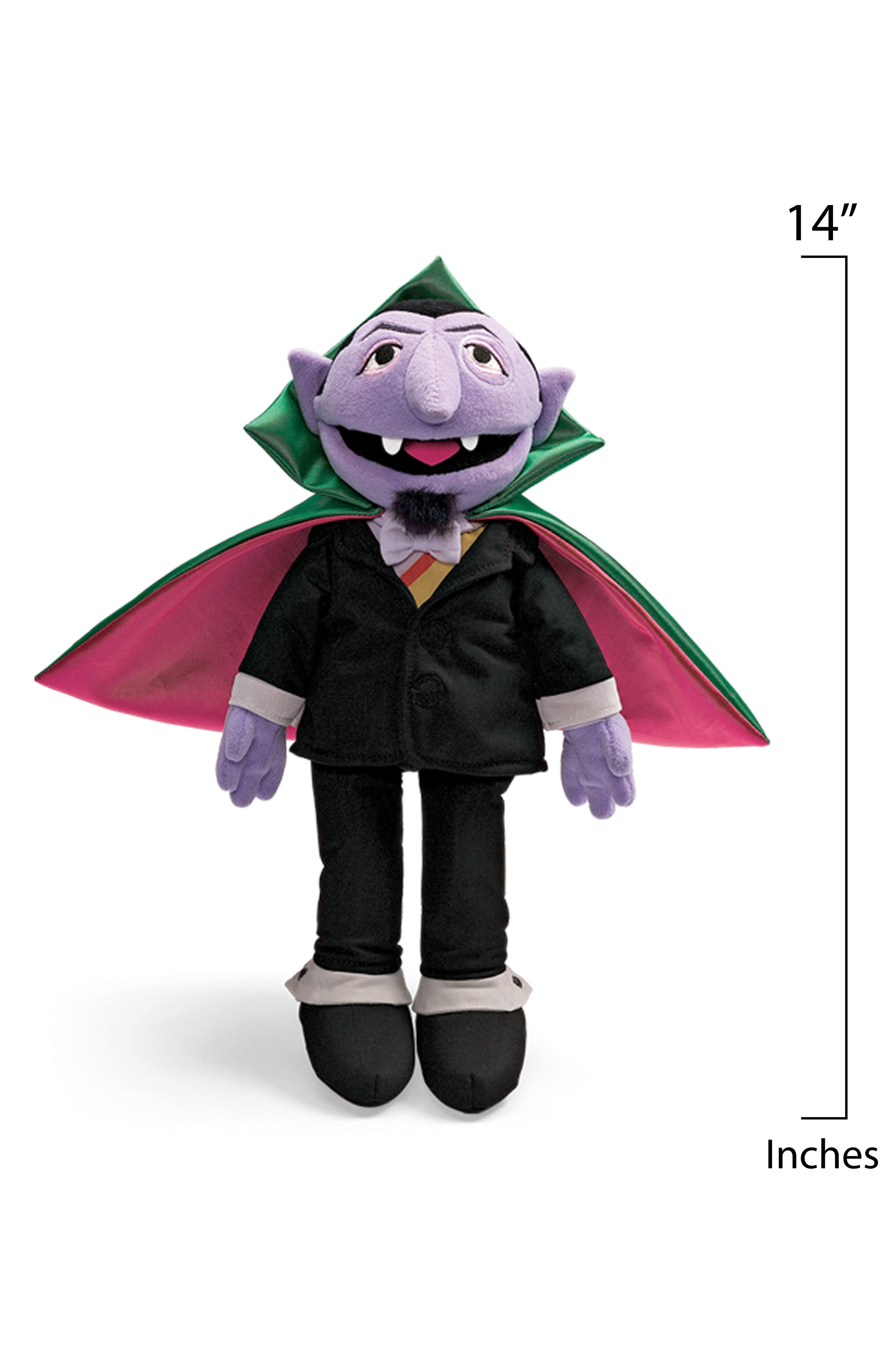 'The Count' Stuffed Toy,                             Alternate thumbnail 2, color,                             Multi