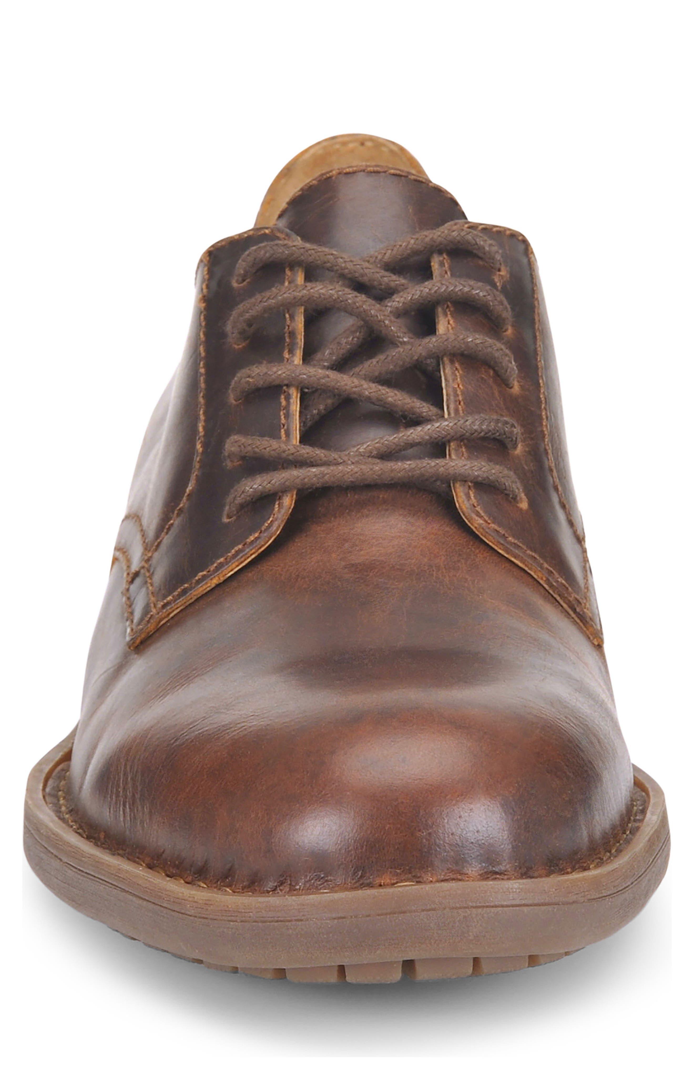 Alternate Image 4  - Børn Decker Plain Toe Derby (Men)