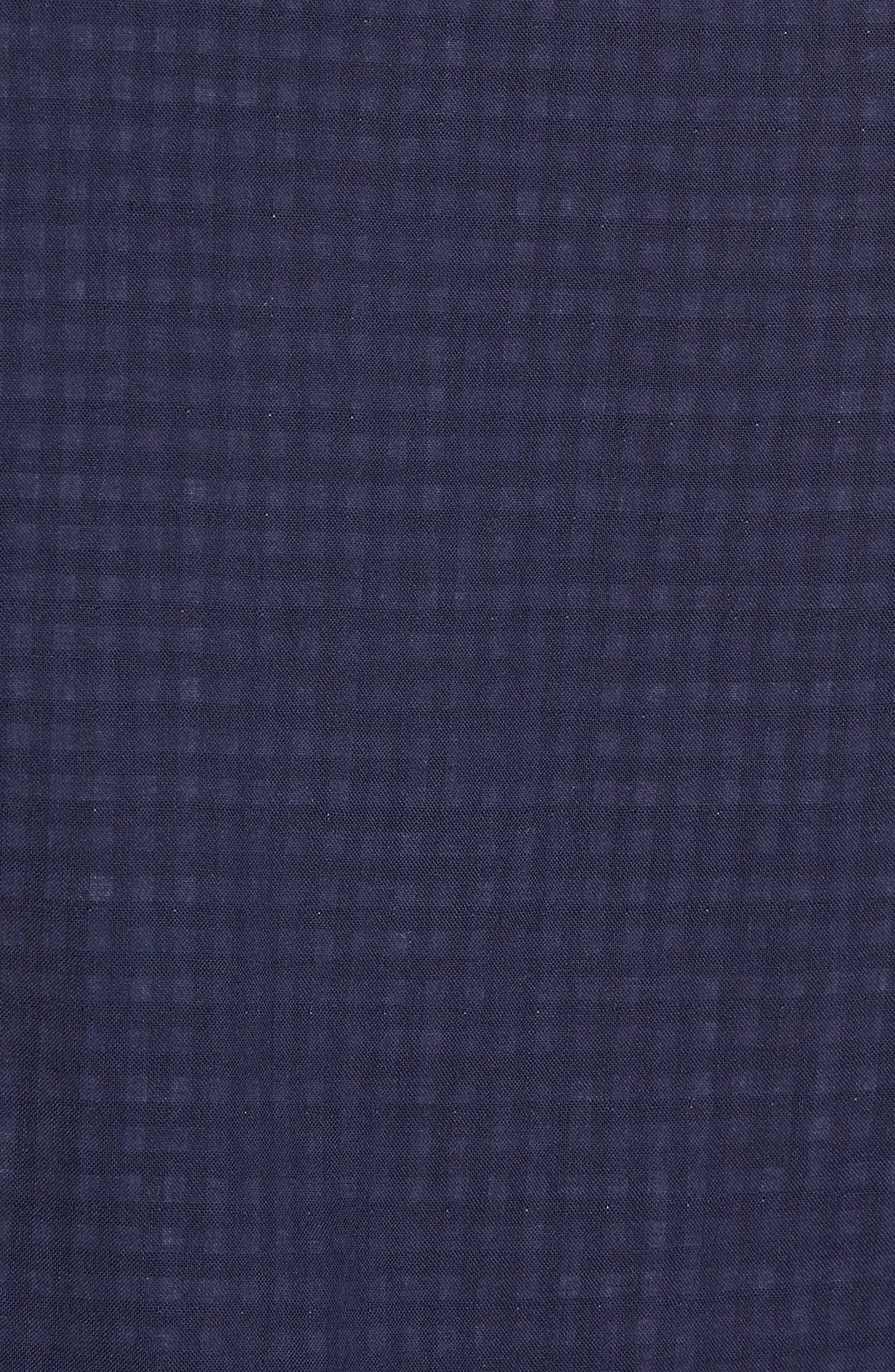 Alternate Image 5  - Nordstrom Men's Shop Trim Fit Duofold Sport Shirt