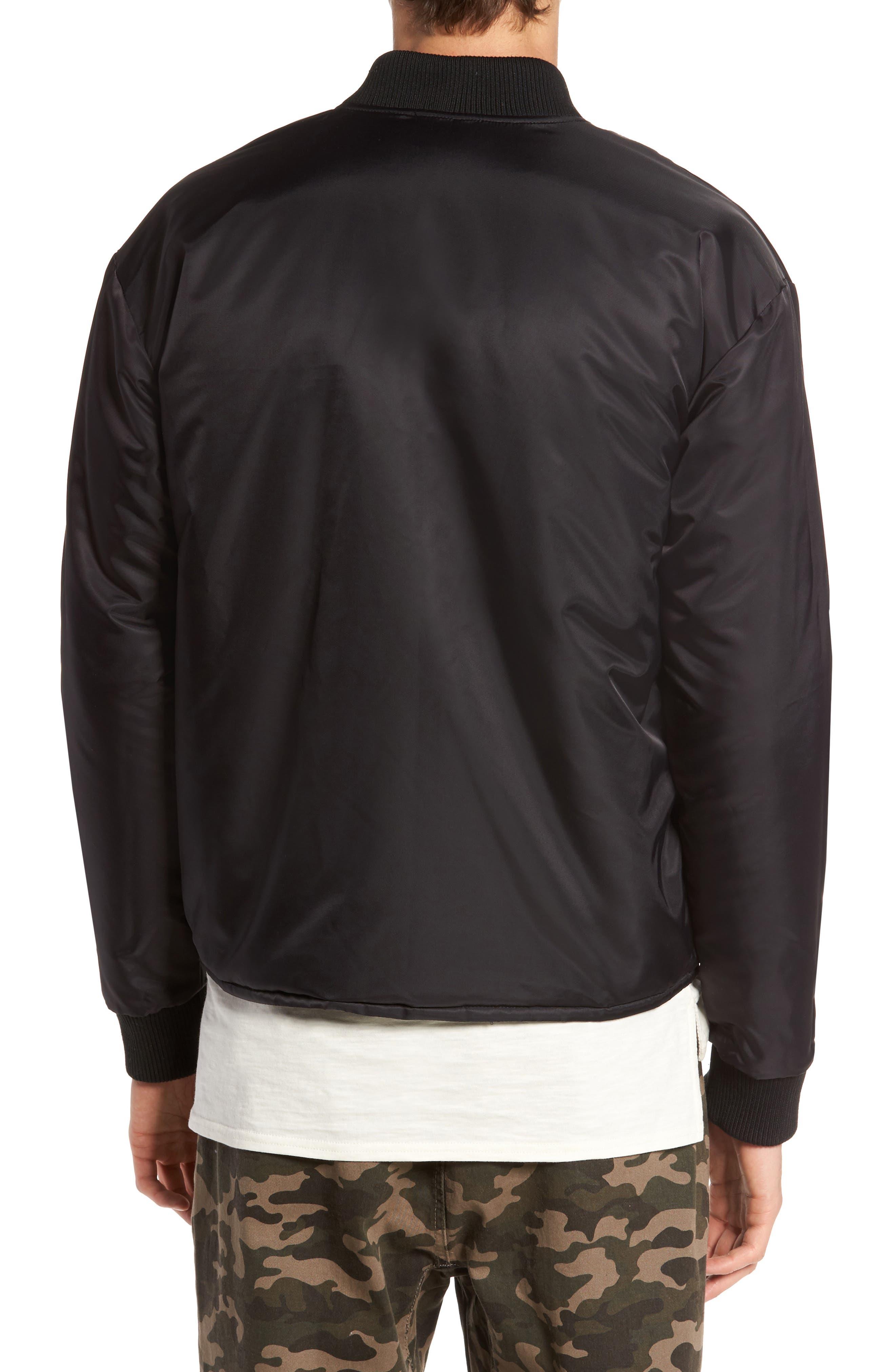 Alternate Image 2  - Lira Clothing Kevion Reversible Bomber Jacket