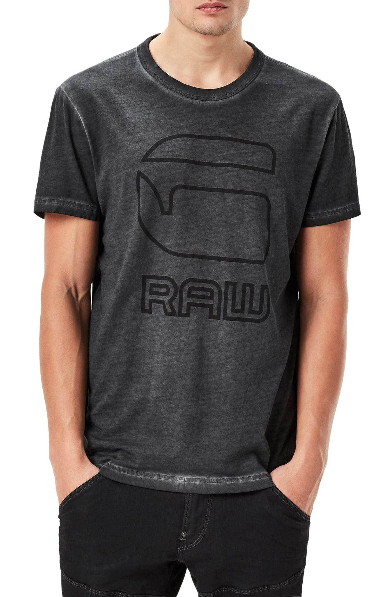 G-Star Raw Nact Logo Graphic T-Shirt