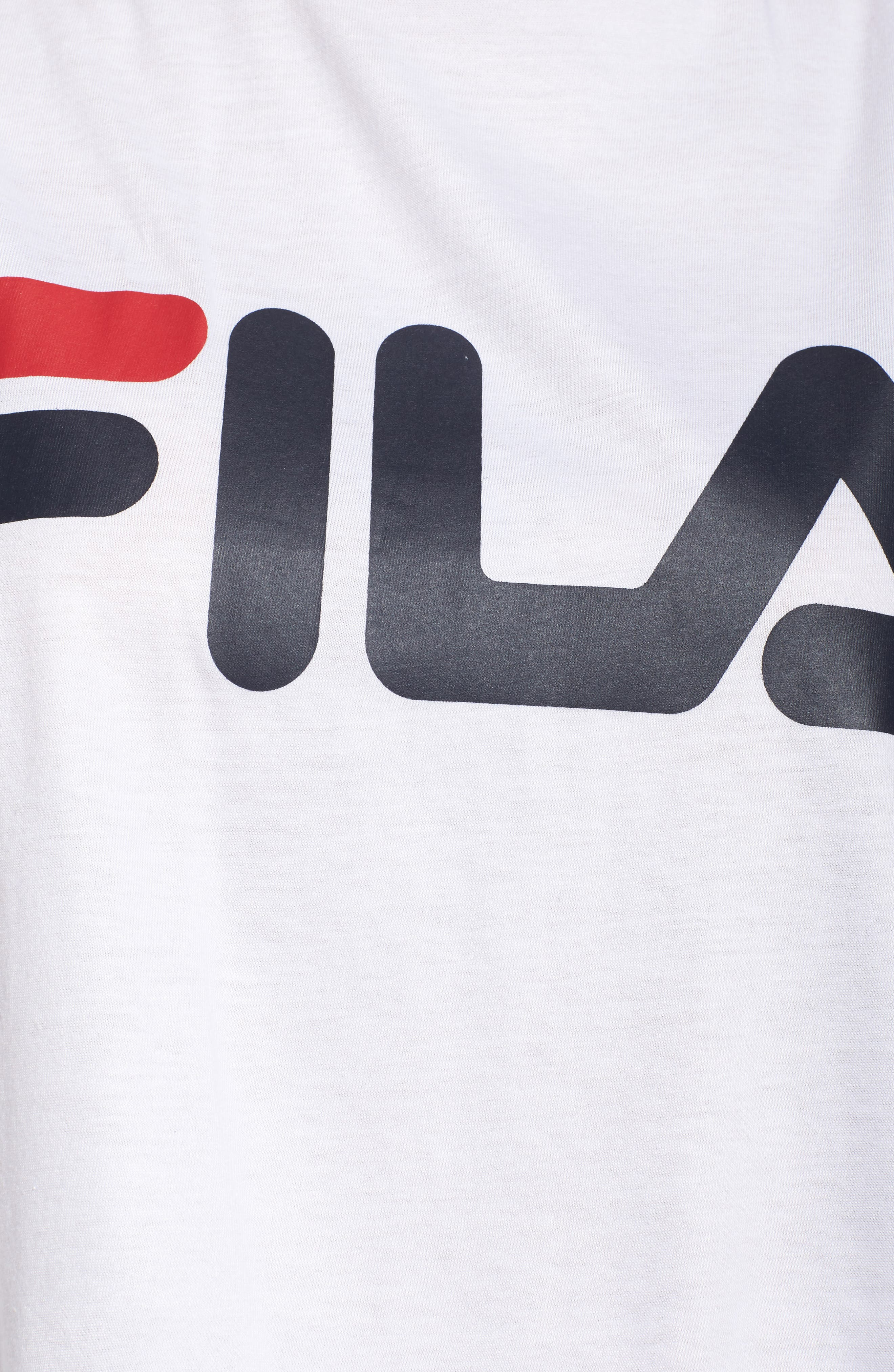 Alternate Image 6  - FILA Nikki Cold Shoulder Crop Tee