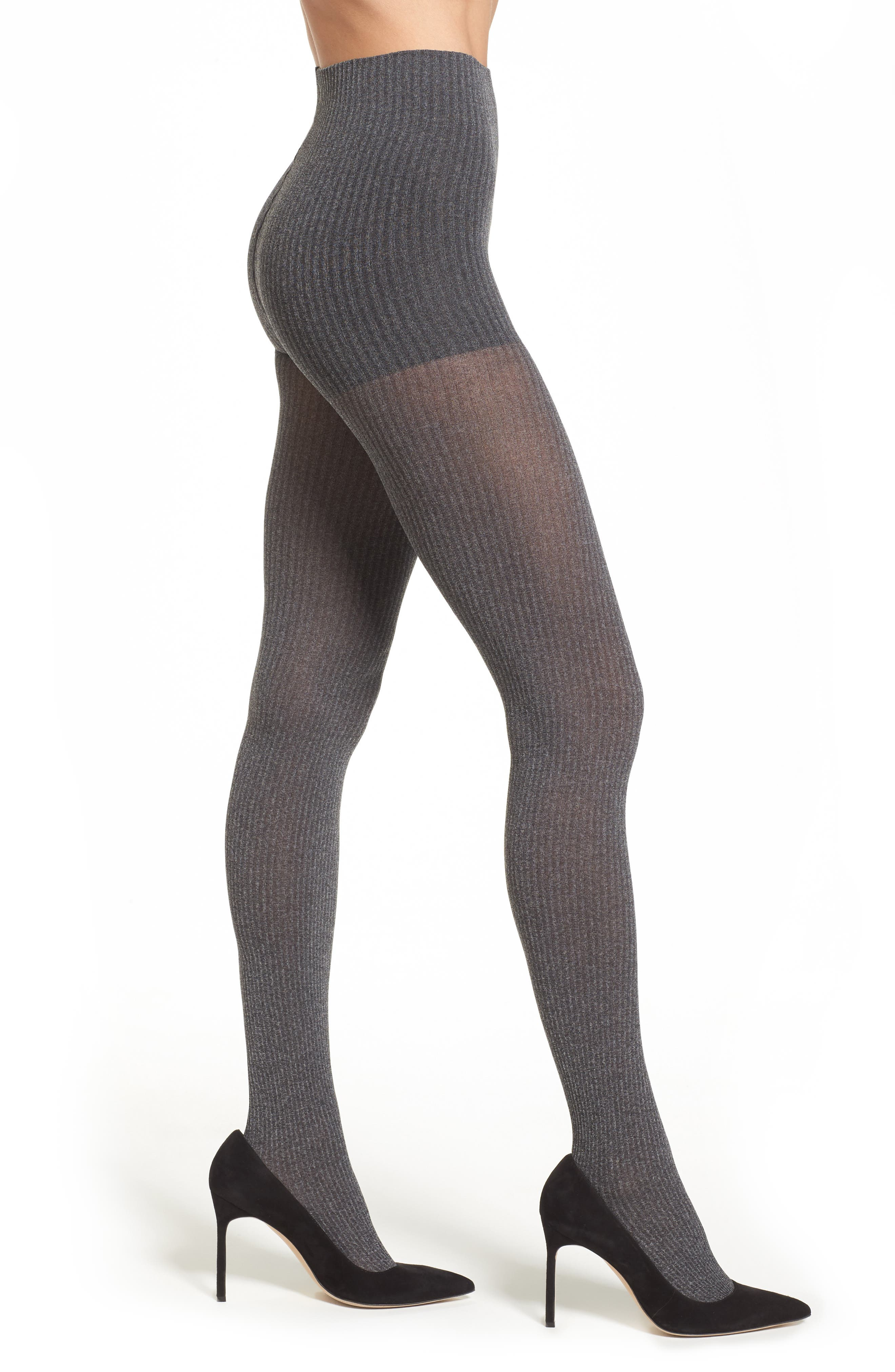DKNY SkinSense™ Rib Knit Tights