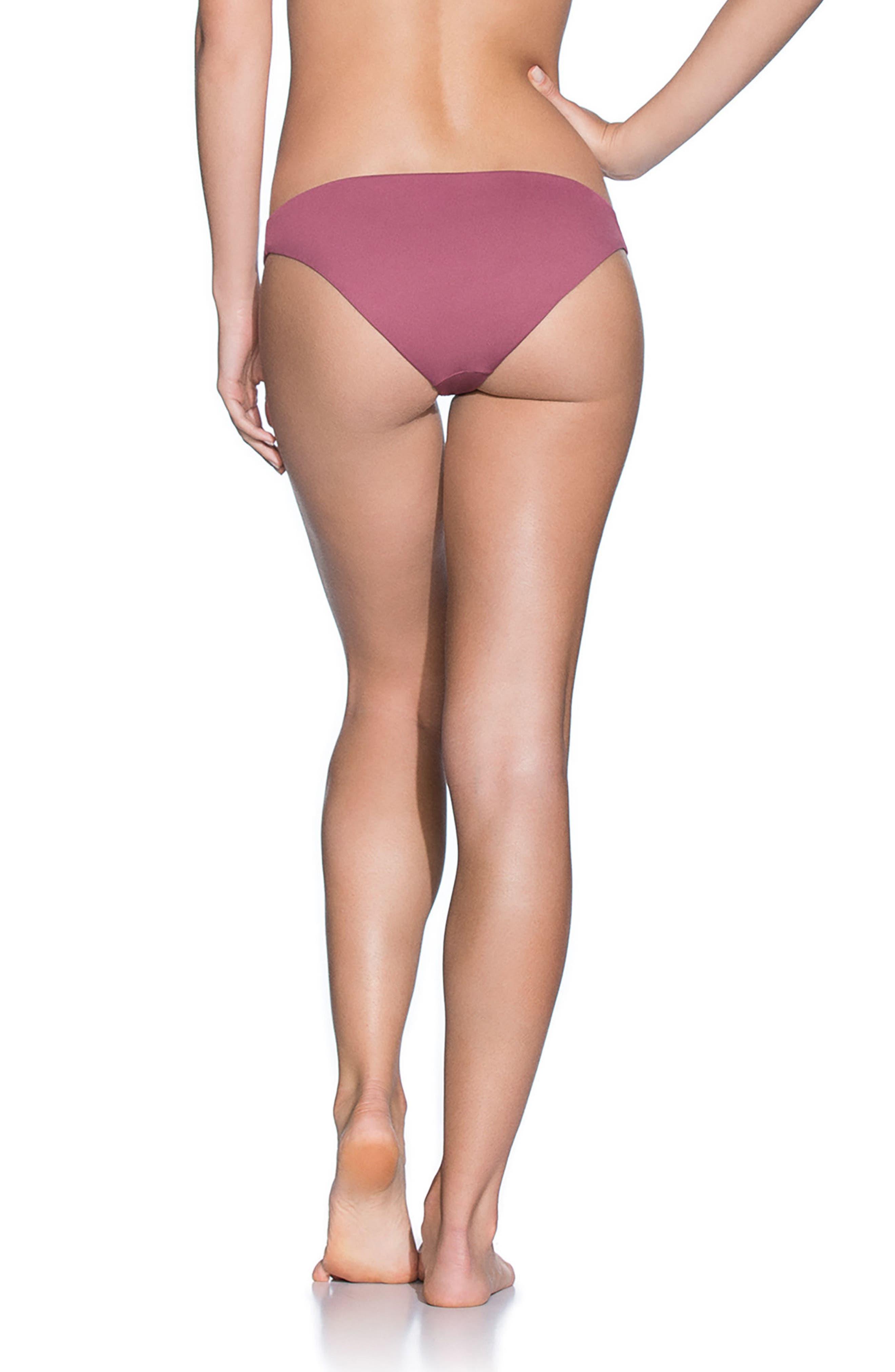 Juneberry Flirt Reversible Bikini Bottoms,                             Alternate thumbnail 2, color,                             Juneberry