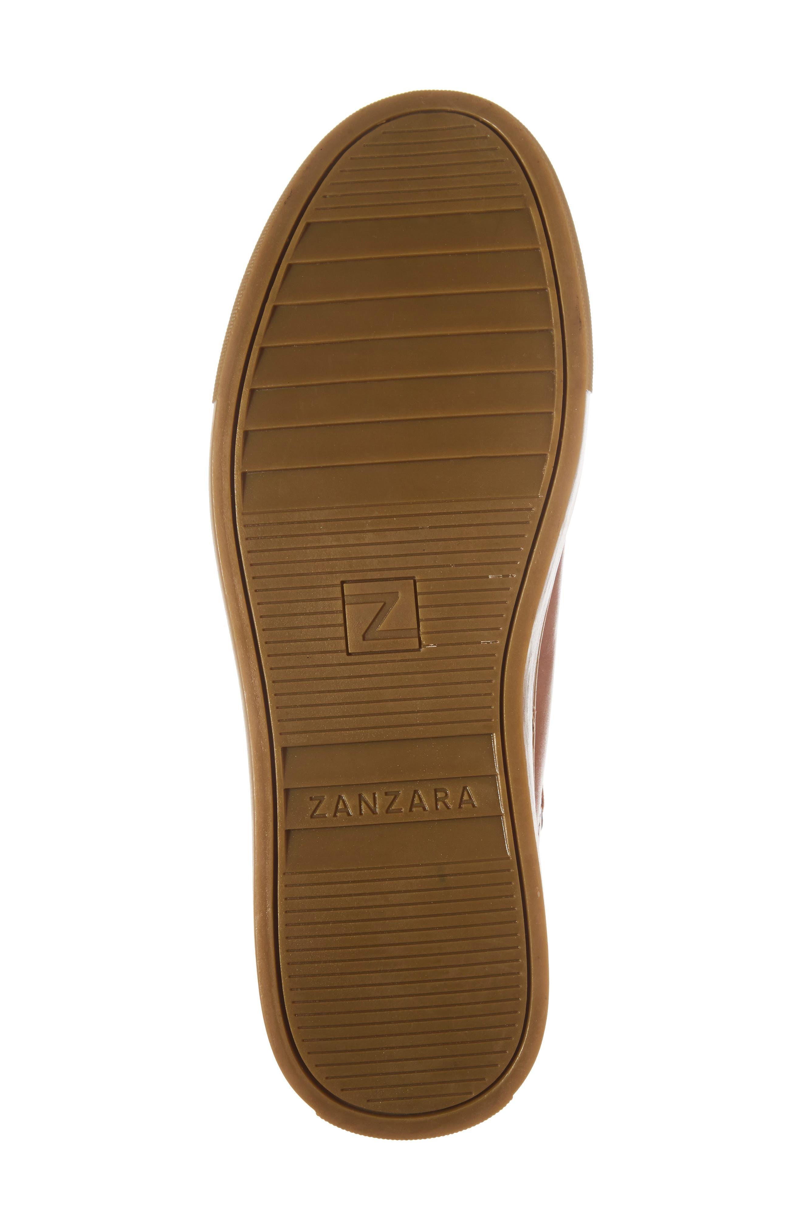 Owen Sneaker,                             Alternate thumbnail 6, color,                             Cognac Leather
