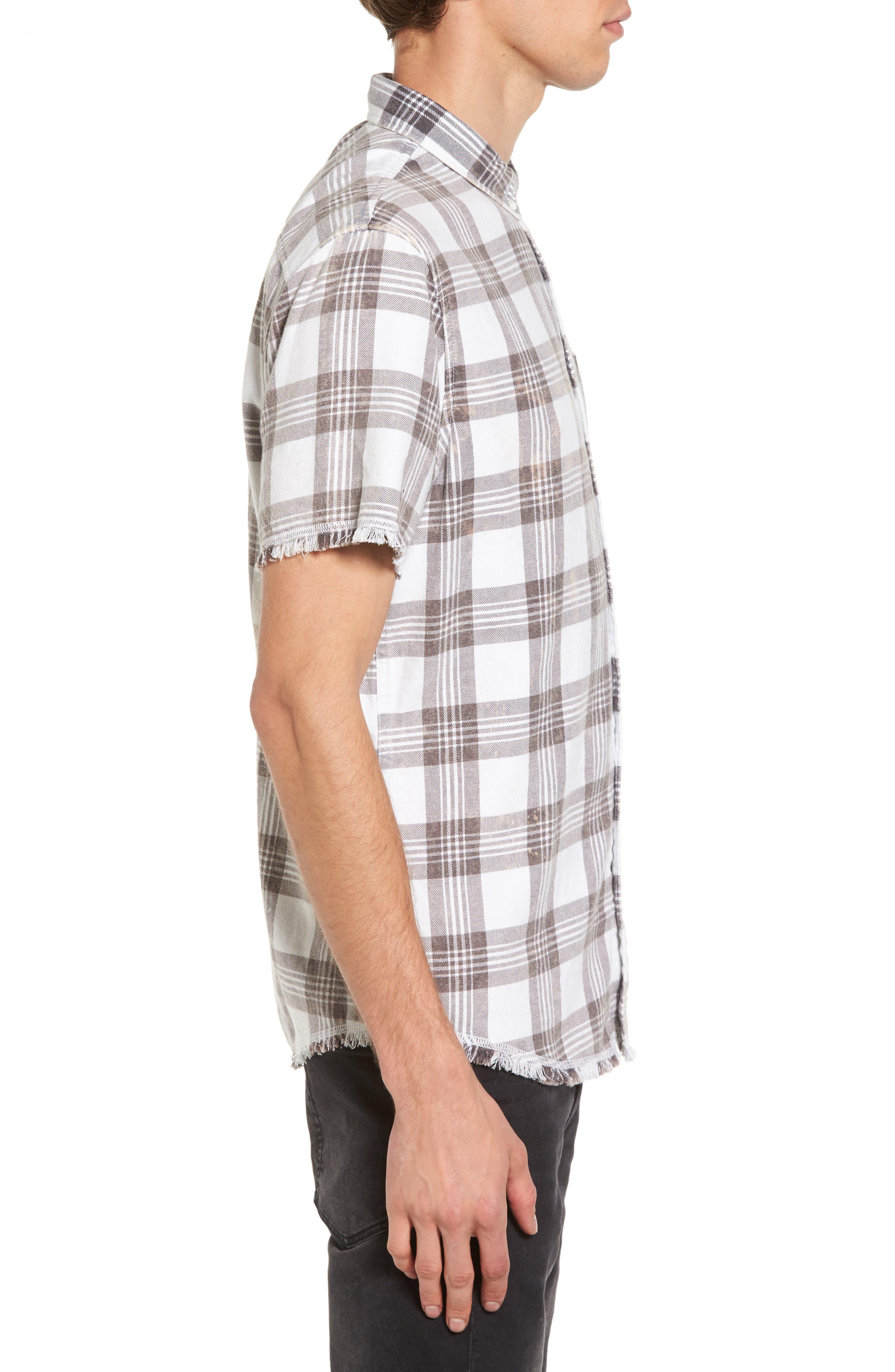Alternate Image 3  - The Rail Bleach Plaid Shirt
