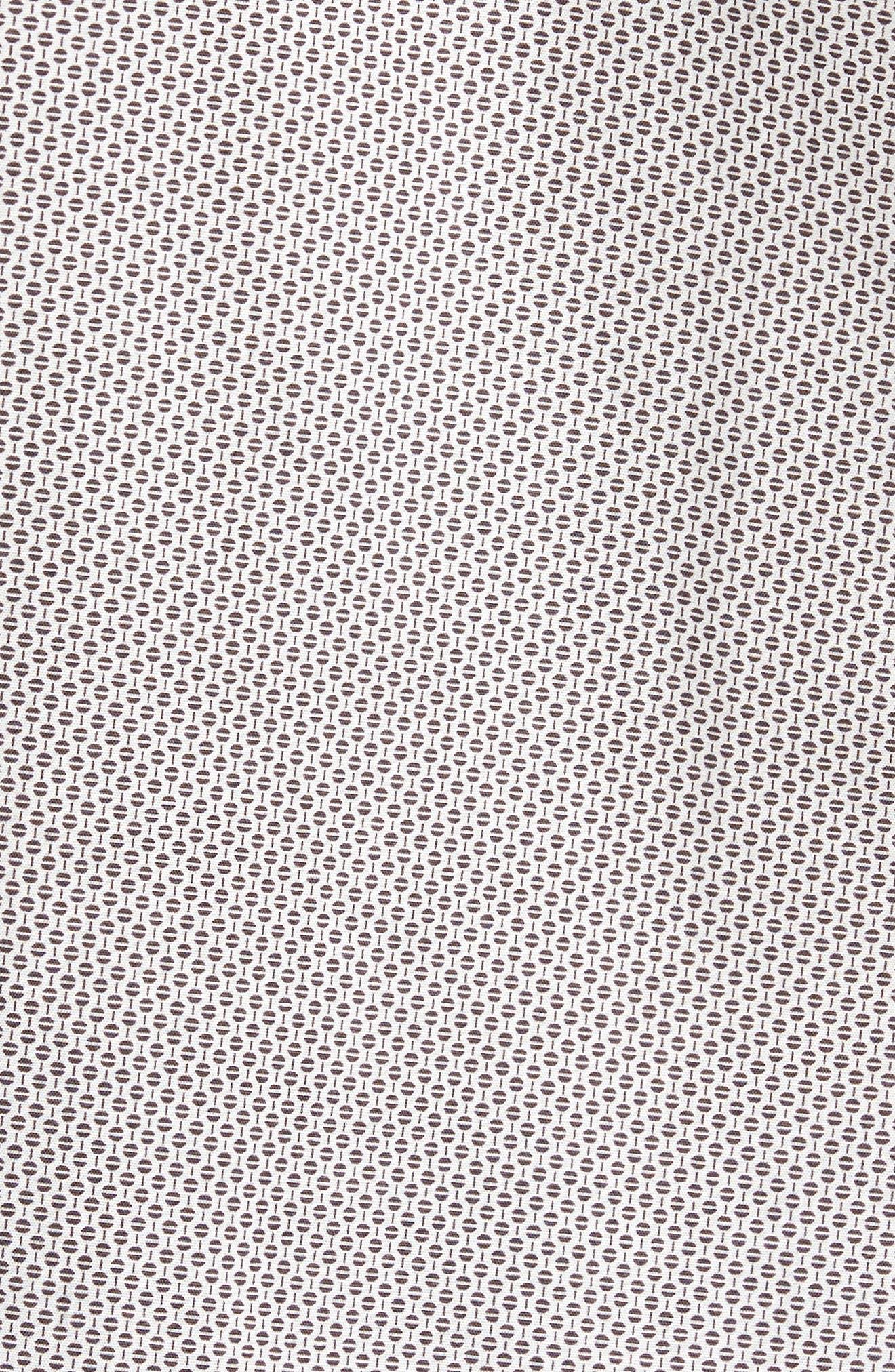 Alternate Image 5  - Calibrate Trim Fit Print Sport Shirt
