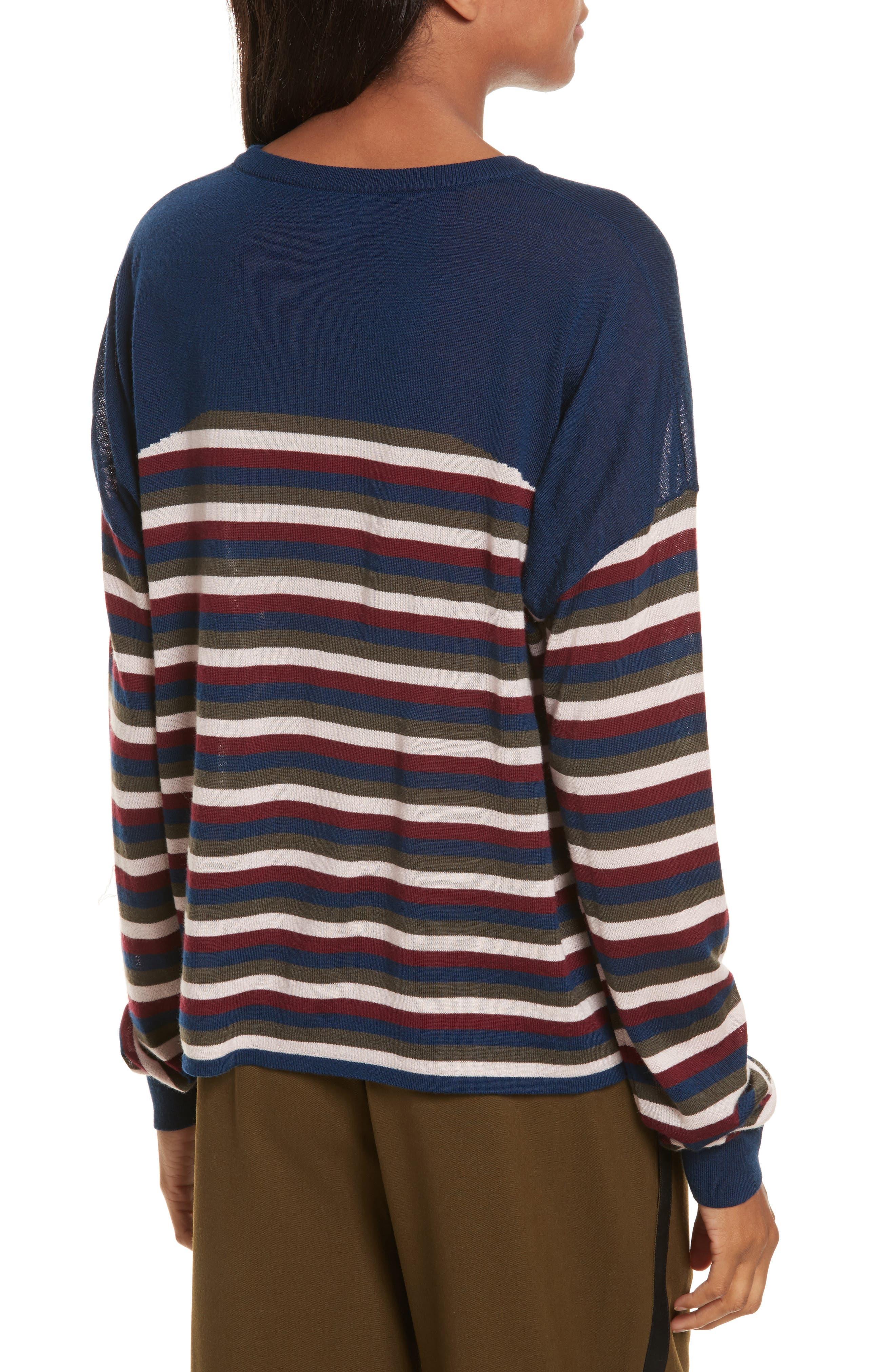 Alternate Image 3  - GREY Jason Wu Stripe Knit Pullover