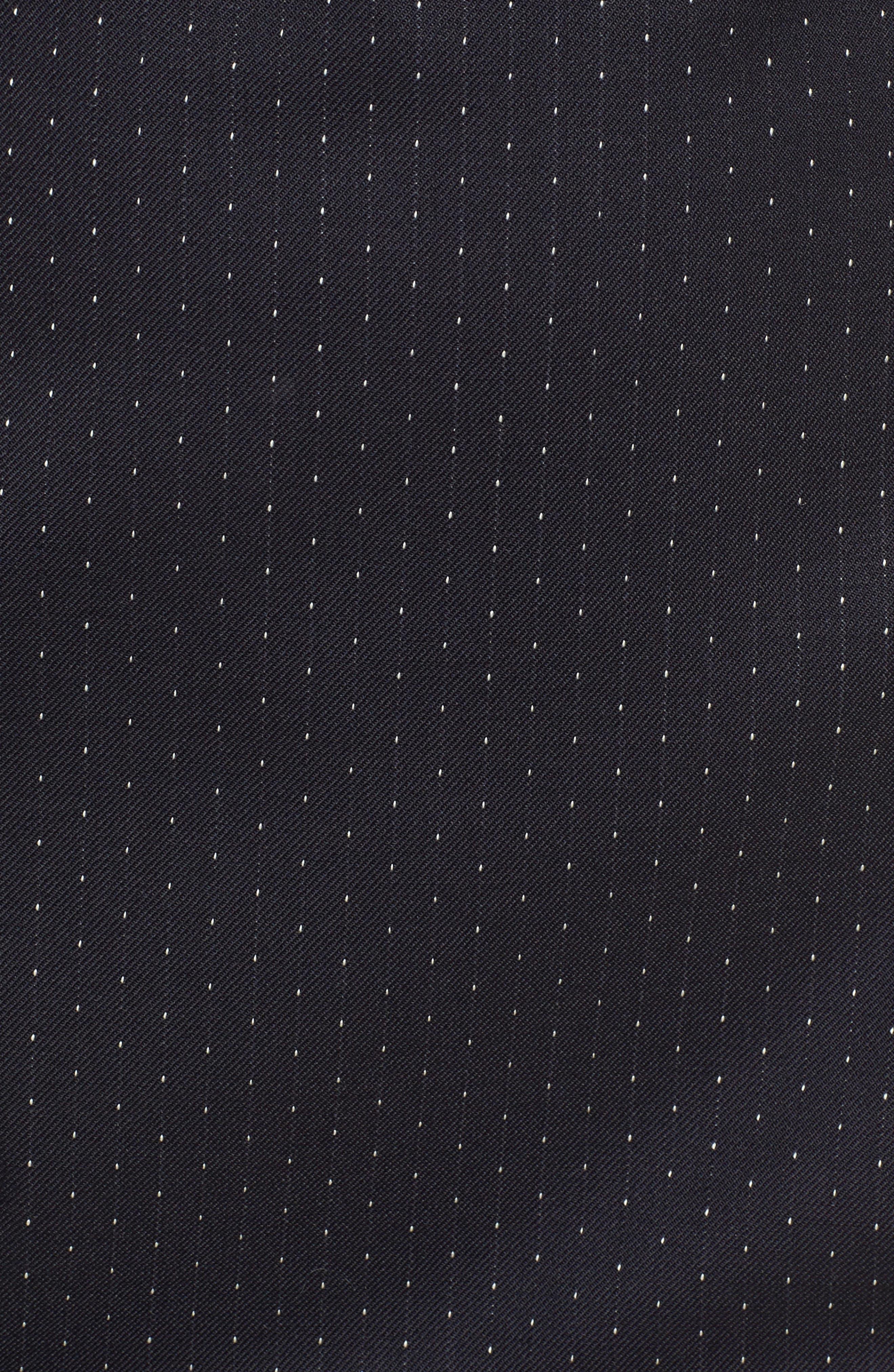 Alternate Image 5  - BOSS Dinalia Mini Dot Belted Wool Sheath Dress
