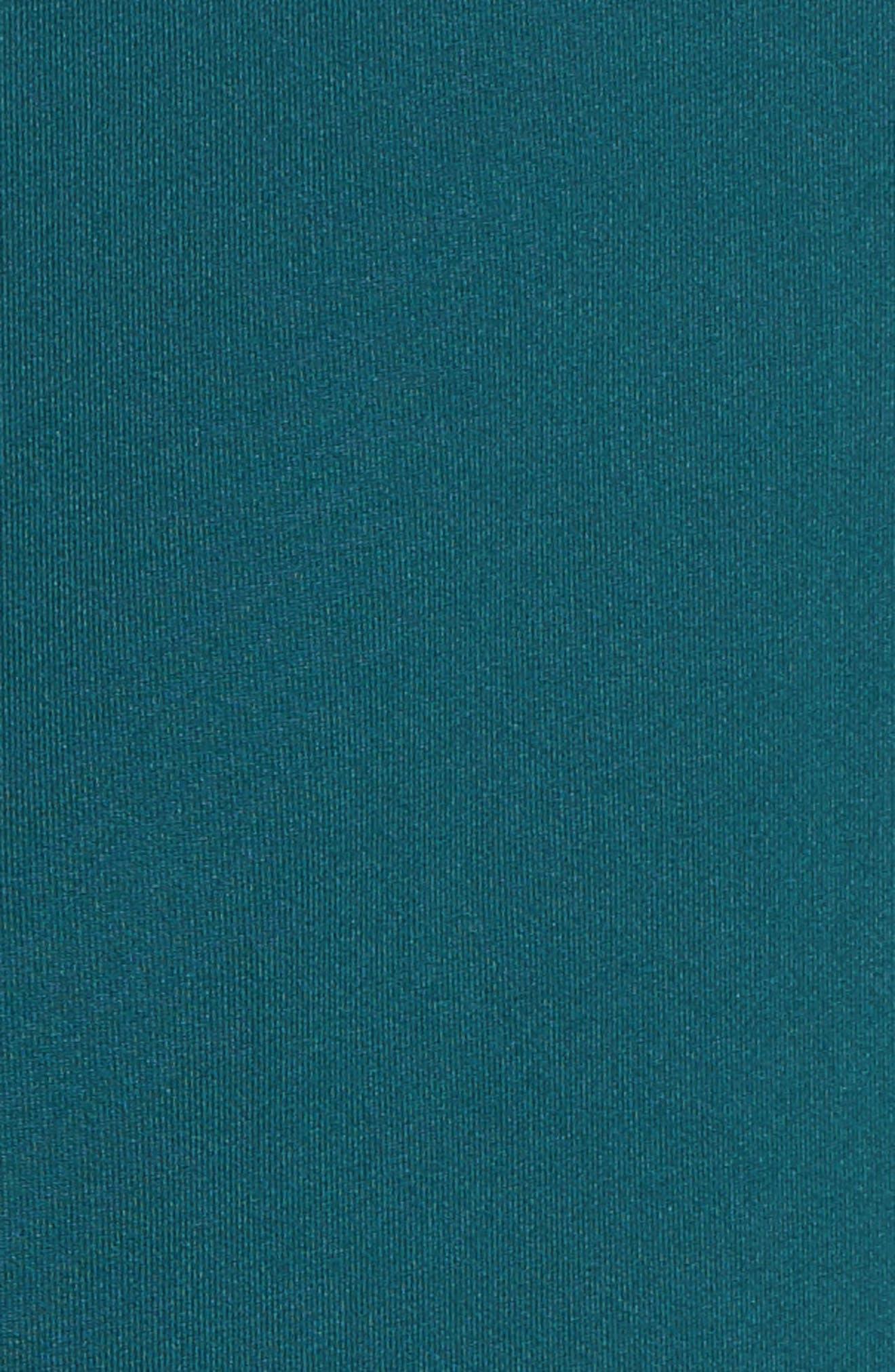 Alternate Image 5  - Nike Dry Element Half Zip Top (Plus Size)