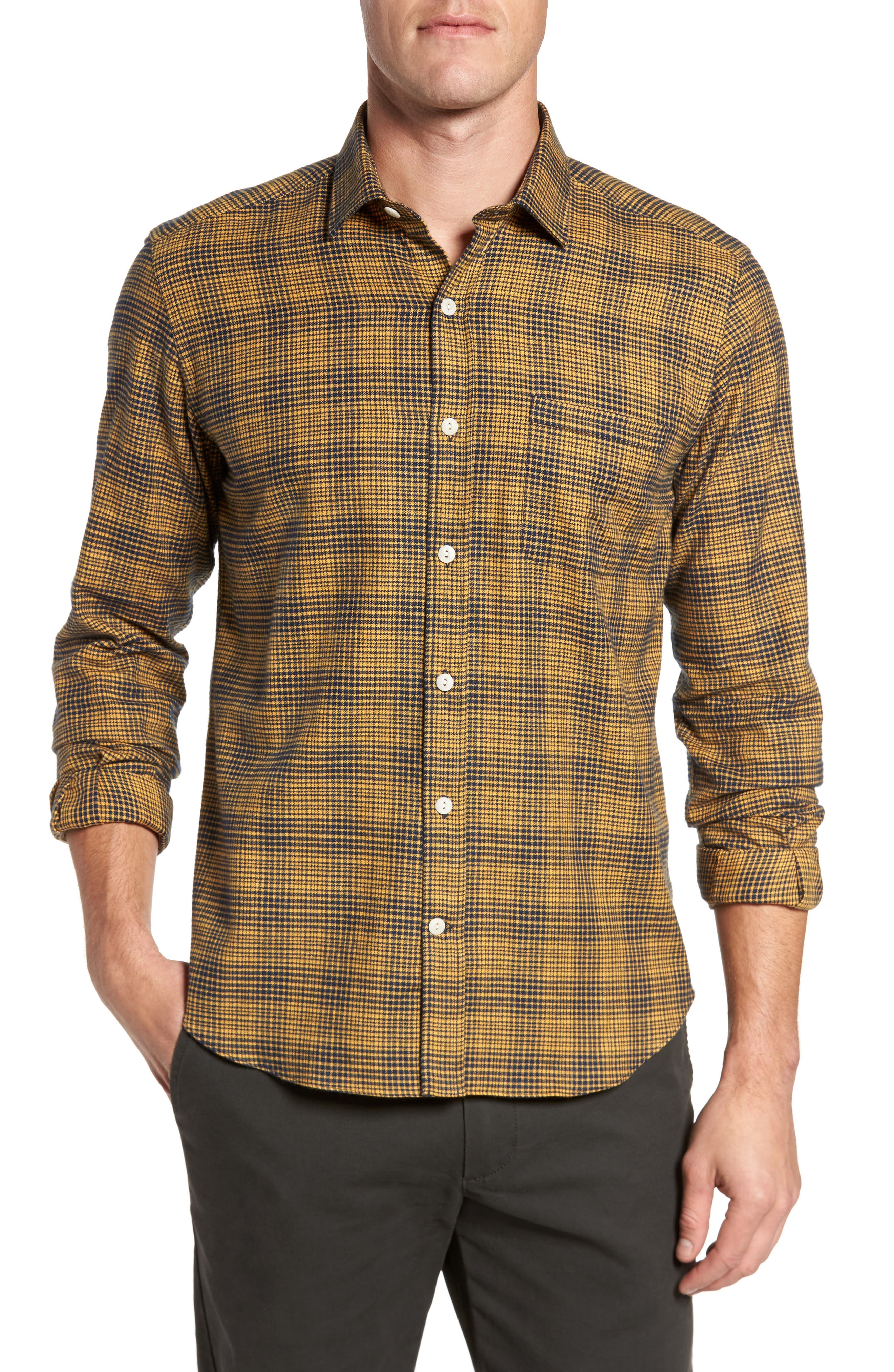 Culturata Glen Plaid Sport Shirt