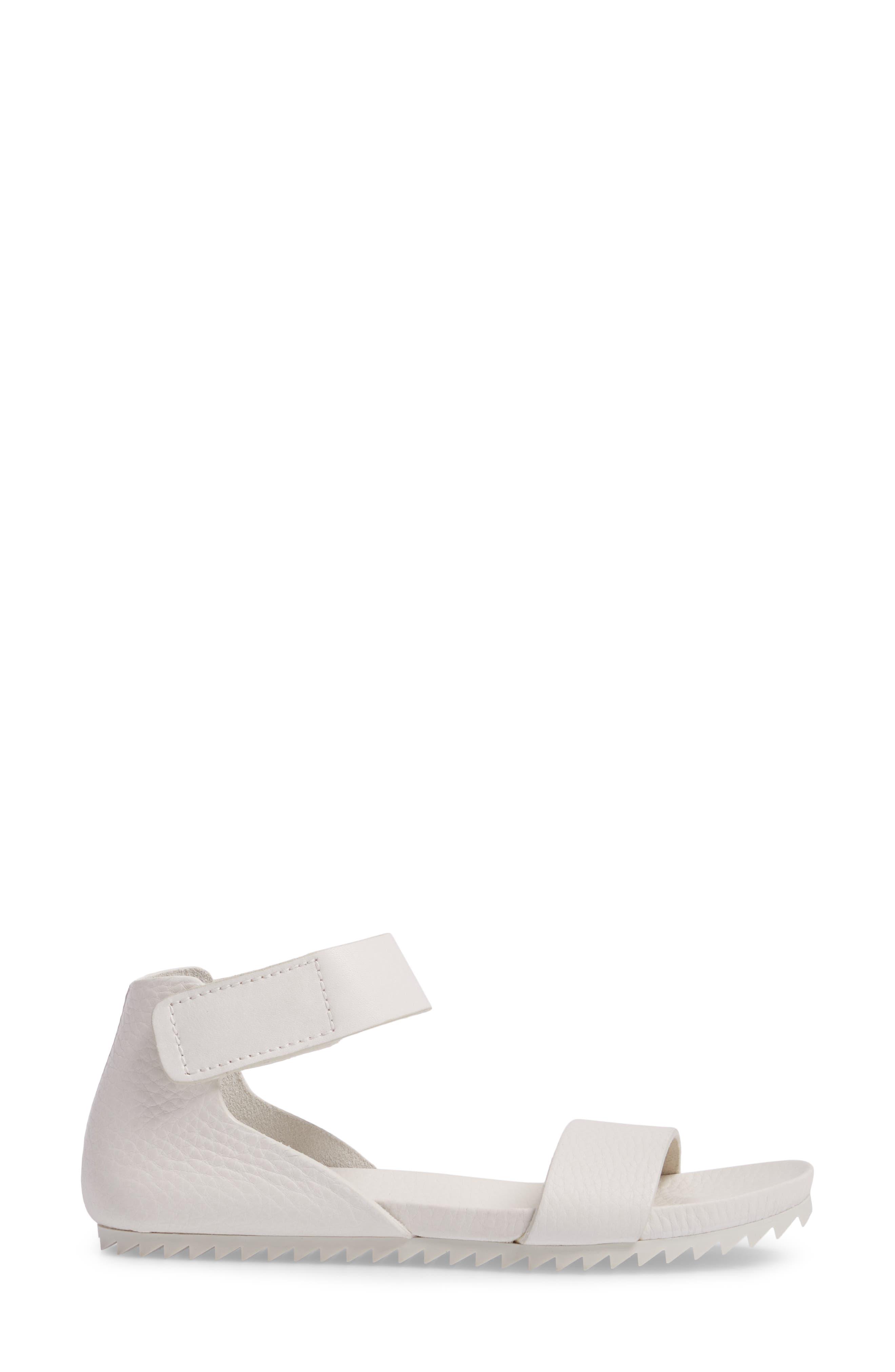 Jalila Ankle Strap Sandal,                             Alternate thumbnail 3, color,                             Chalk Cervo