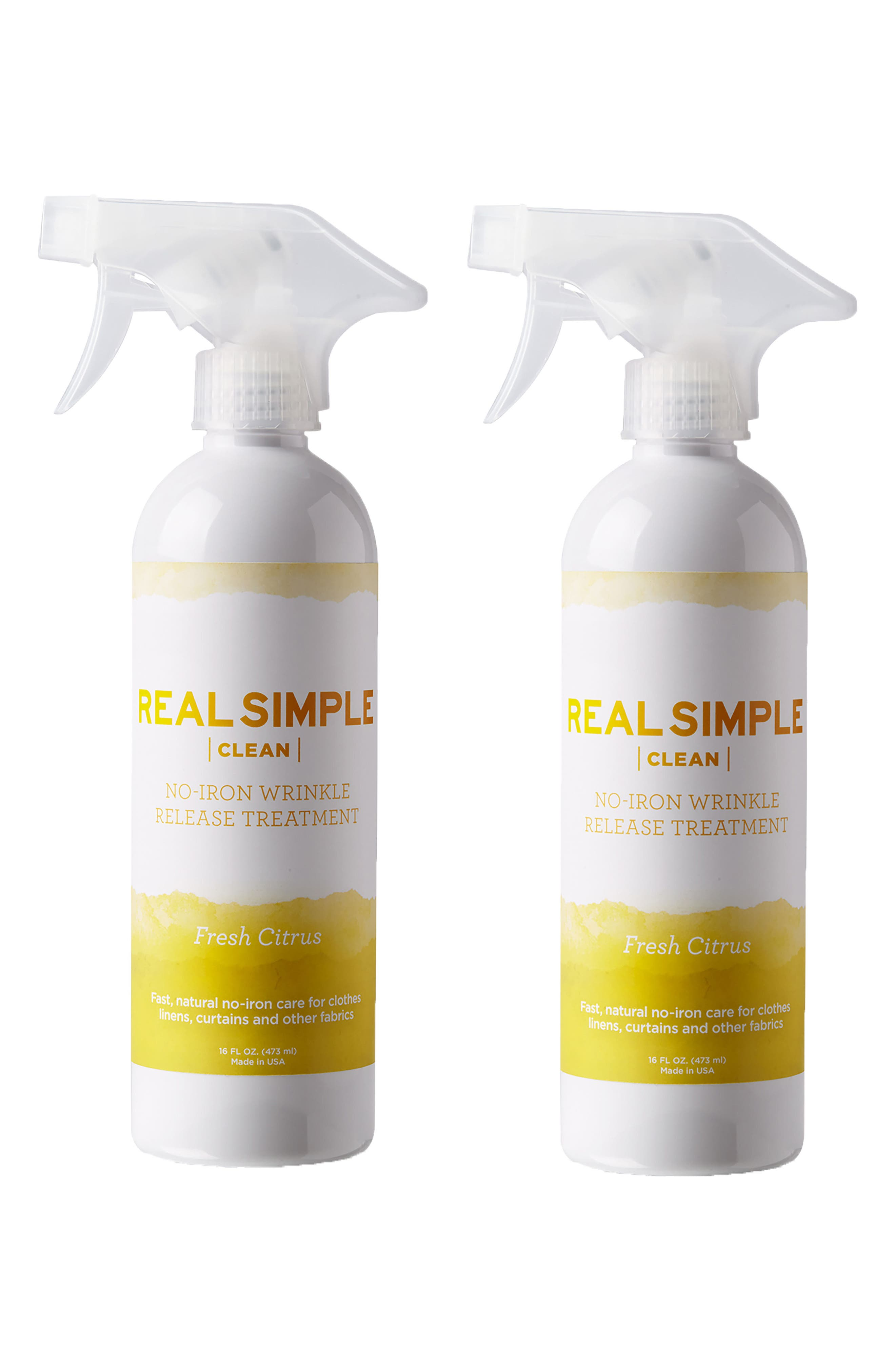 Alternate Image 1 Selected - Real Simple 2-Pack Wrinkle Release Spray