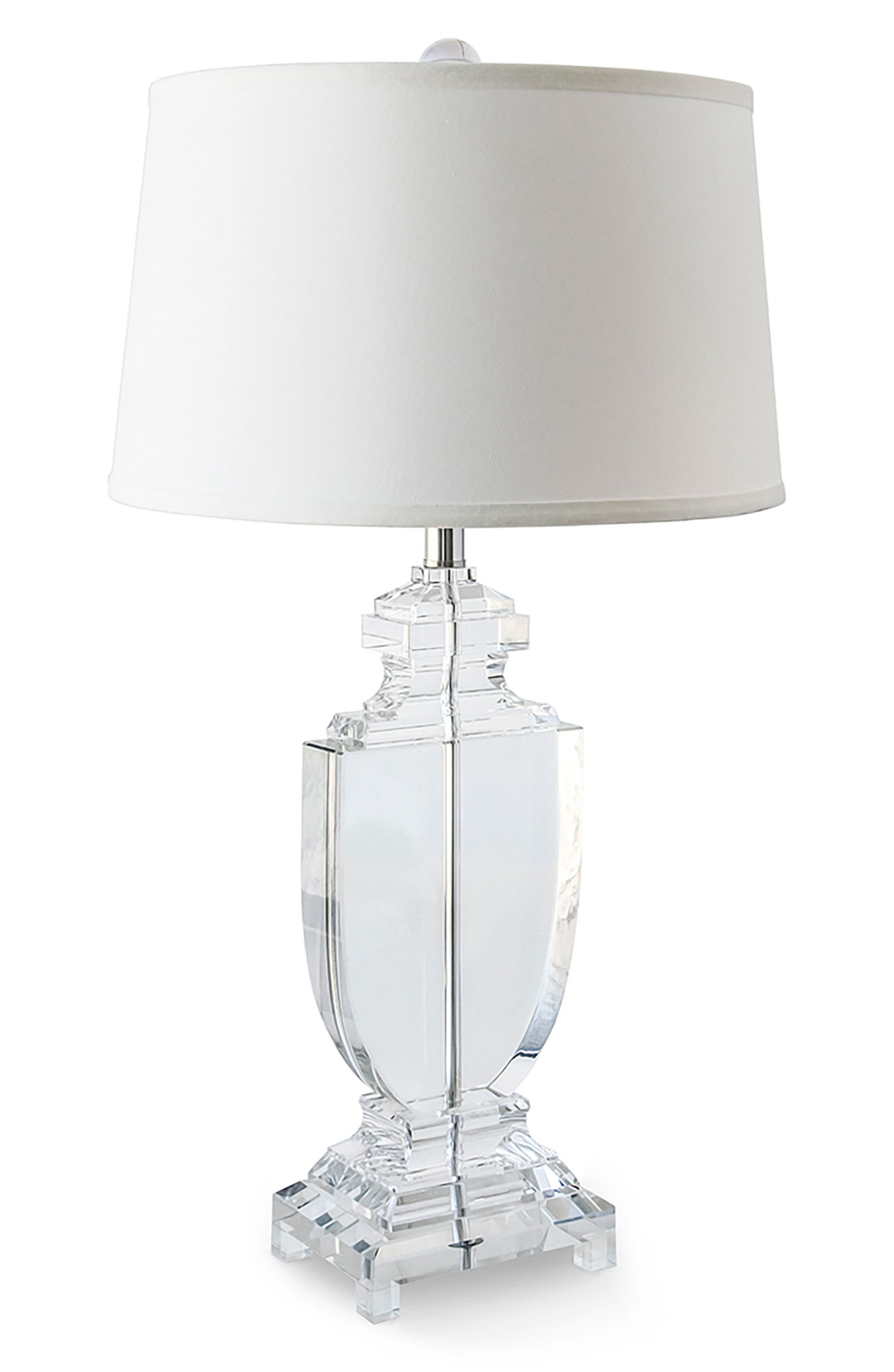 Urn Table Lamp,                             Main thumbnail 1, color,                             White
