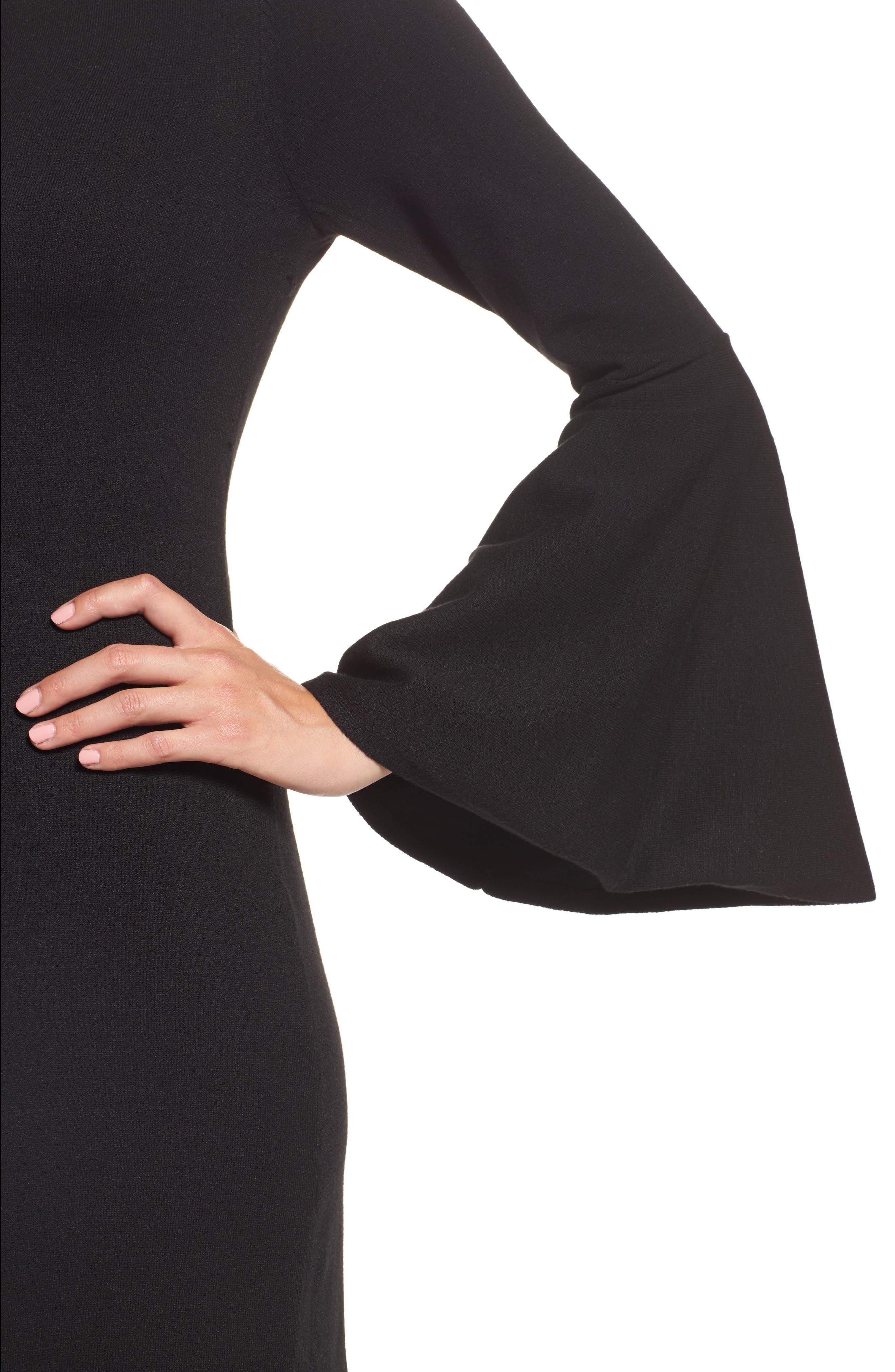 Alternate Image 4  - Eliza J Bell Sleeve Dress