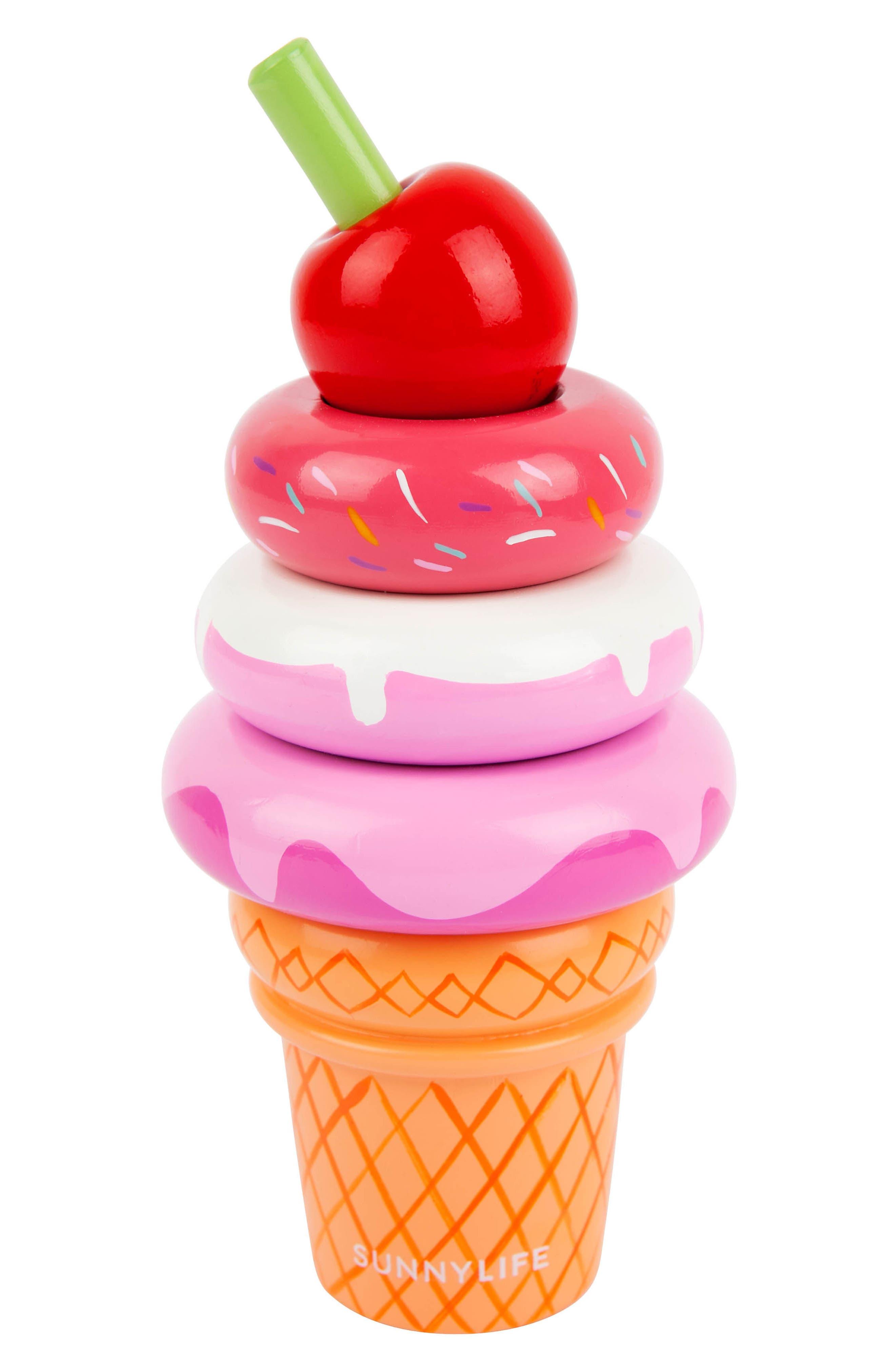 Sunnylife Ice Cream Stacking Toy