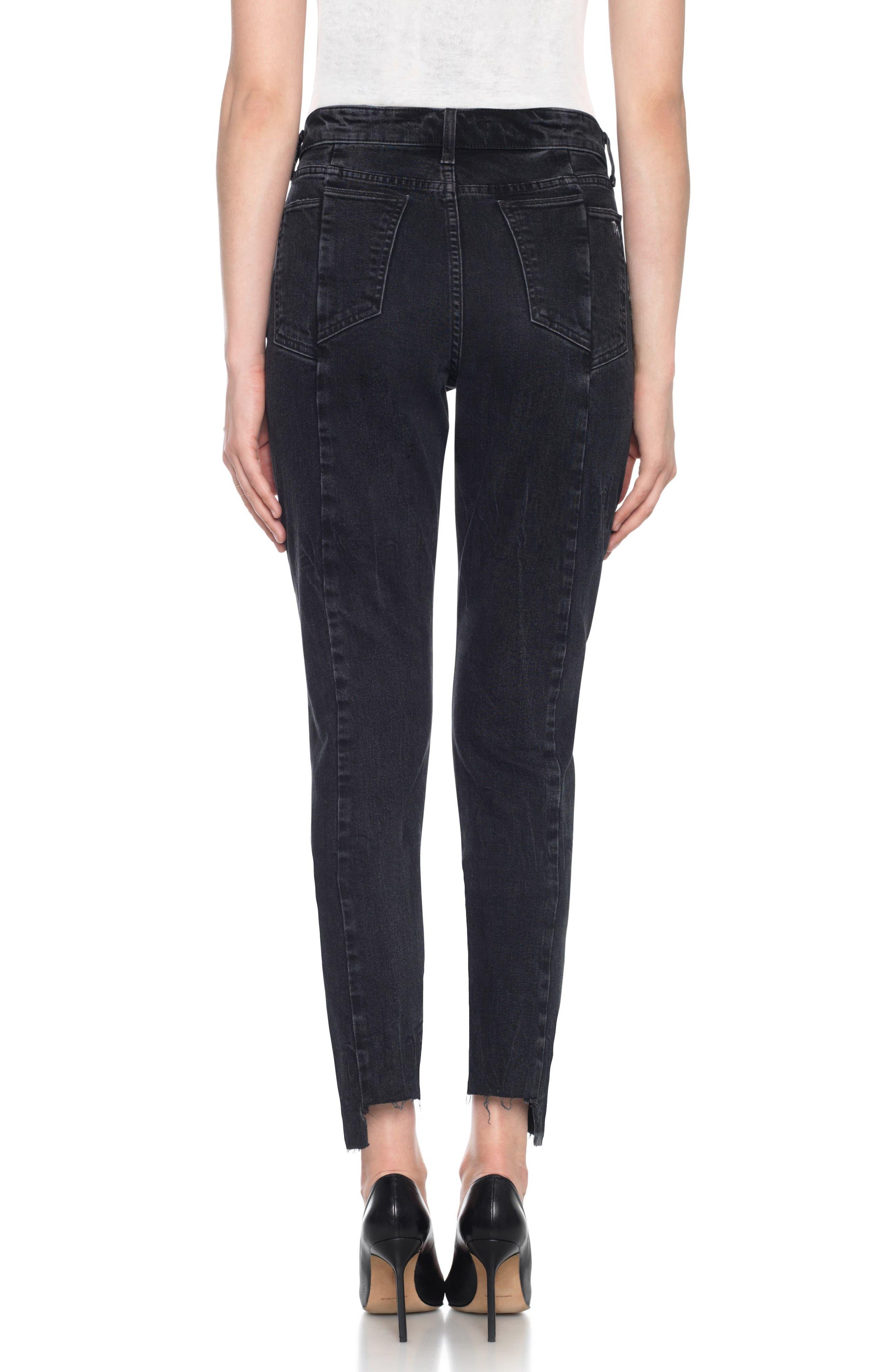 Alternate Image 3  - Taylor Hill x Joe's Kass Raw Step Hem Ankle Skinny Jeans (Domino)