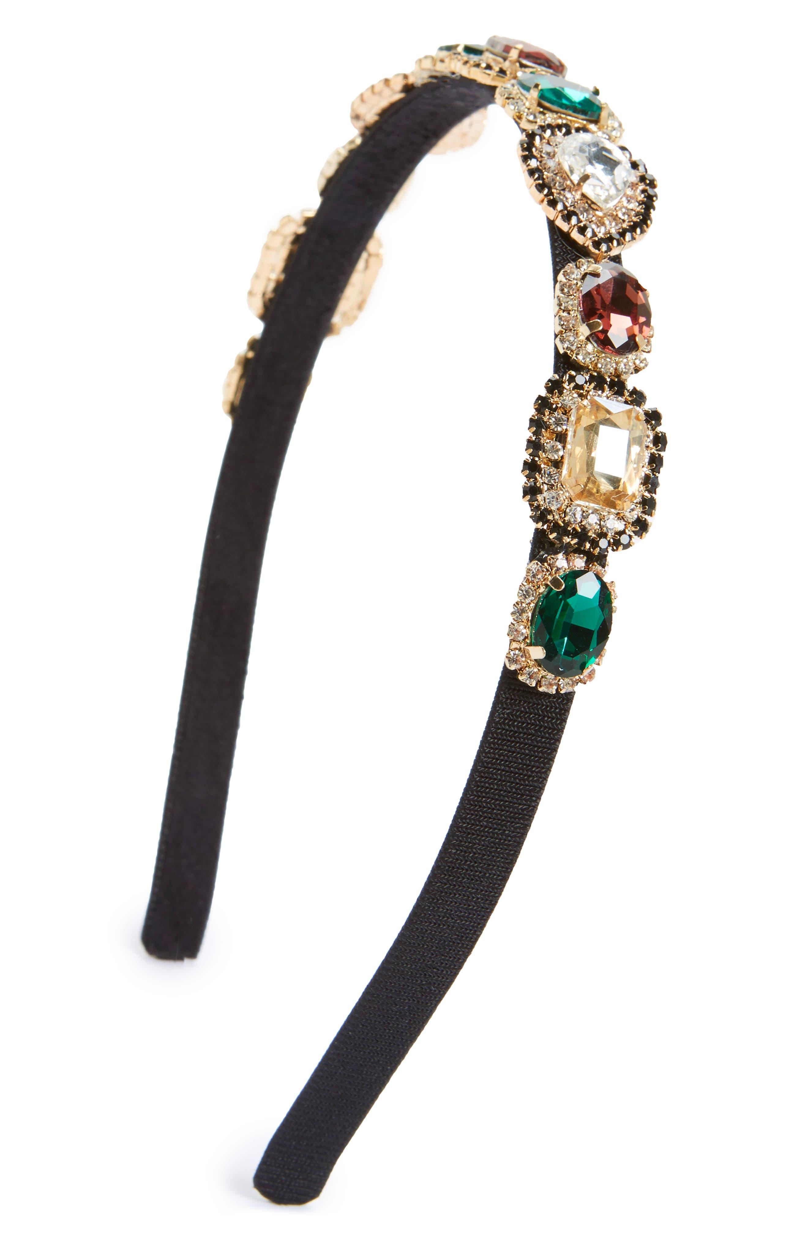 Cara Rhinestone Embellished Headband