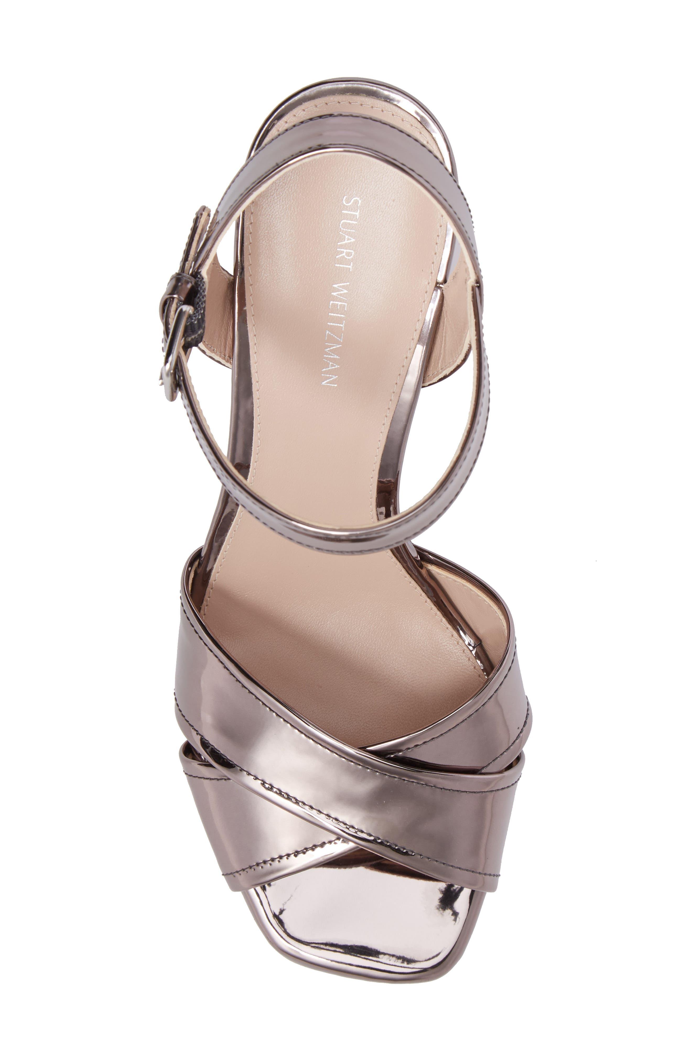 Alternate Image 5  - Stuart Weitzman Exposed Platform Sandal (Women)