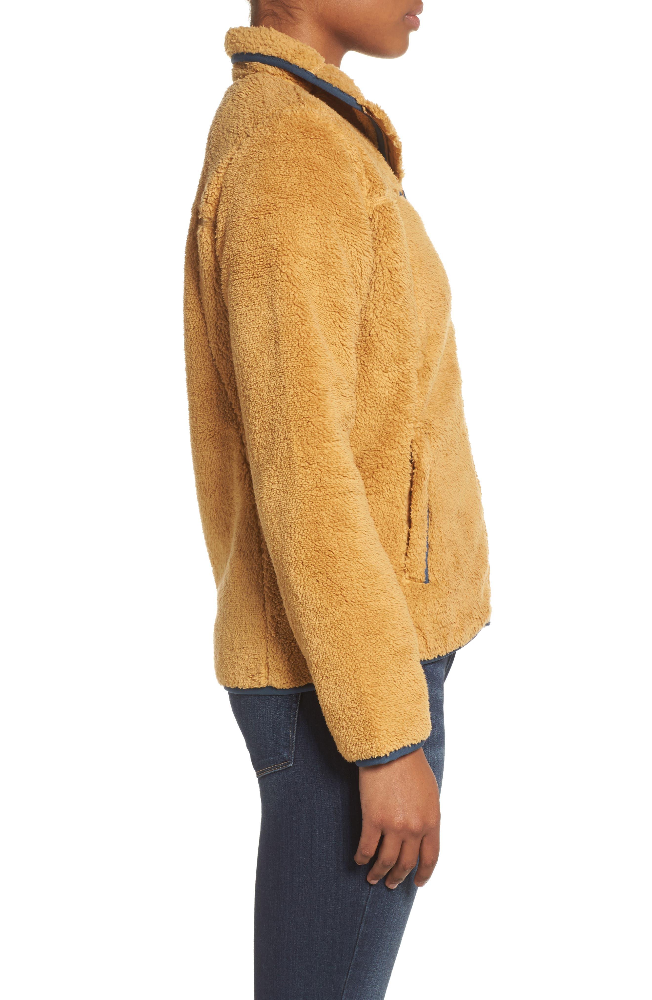 Campshire Zip Jacket,                             Alternate thumbnail 3, color,                             Biscuit Tan