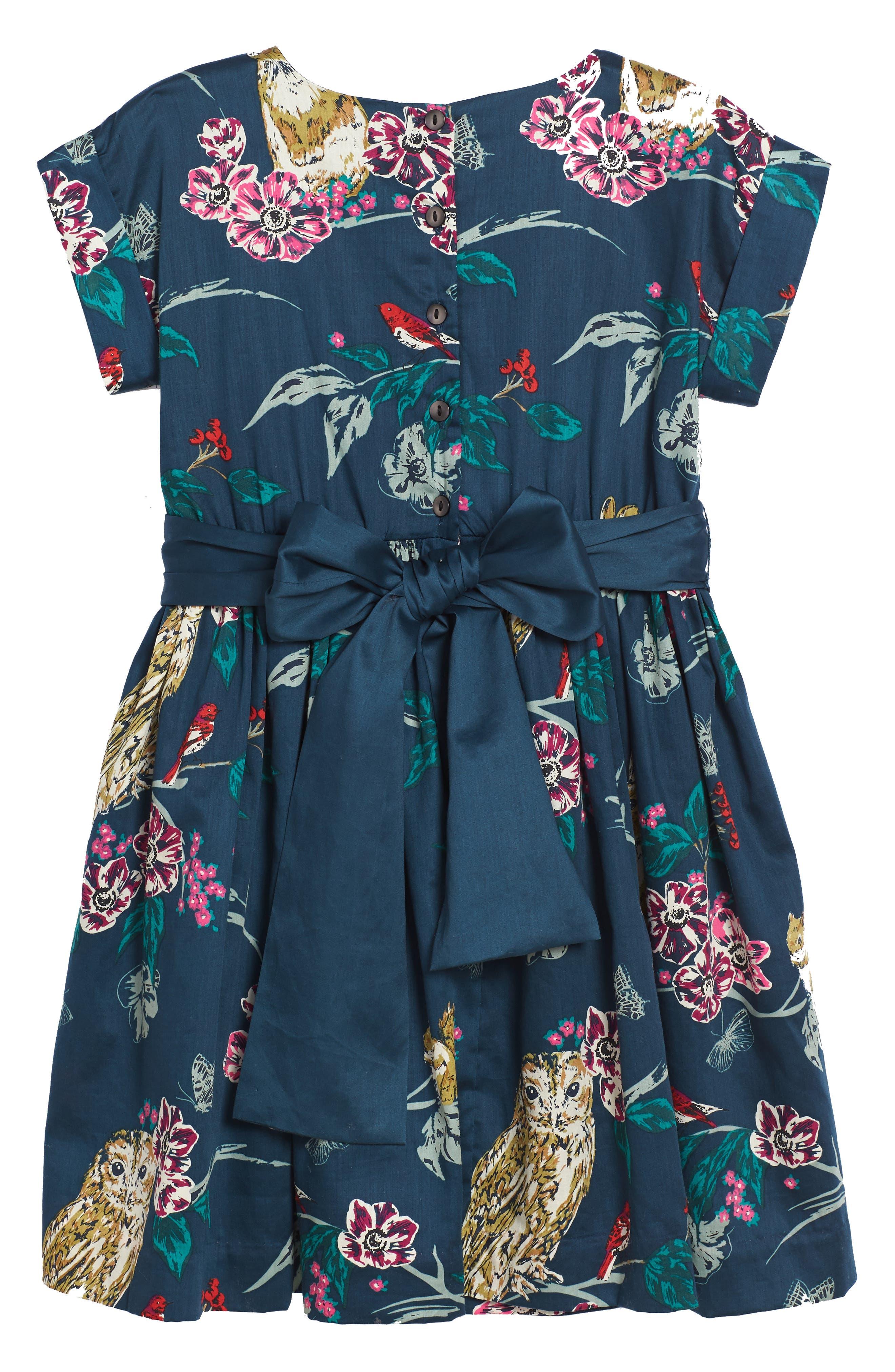 Alternate Image 3  - Tea Collection Caledonian Forest Sash Dress (Toddler Girls, Little Girls & Big Girls)