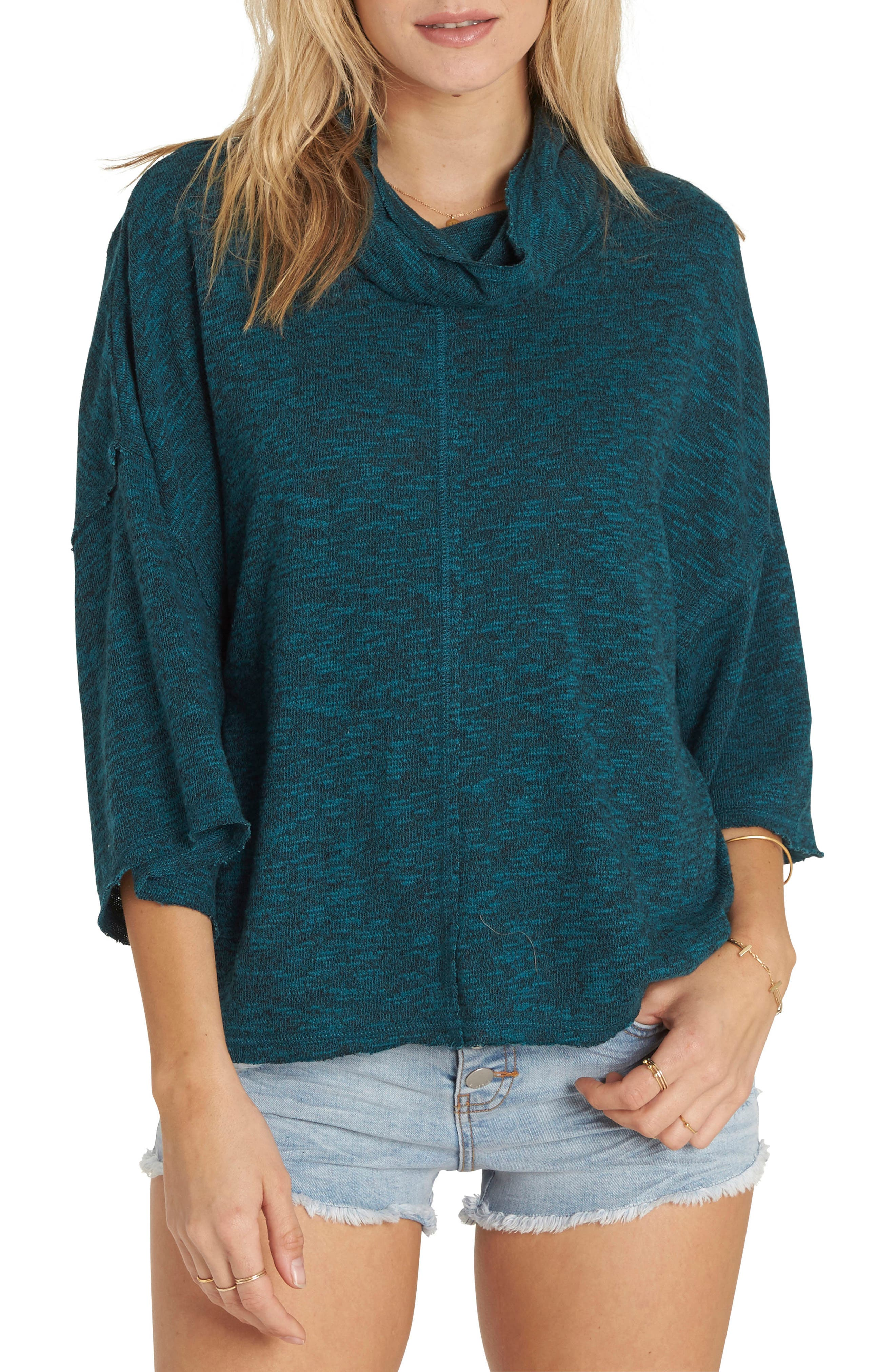 Billabong Take a Stand Cowl Neck Sweater