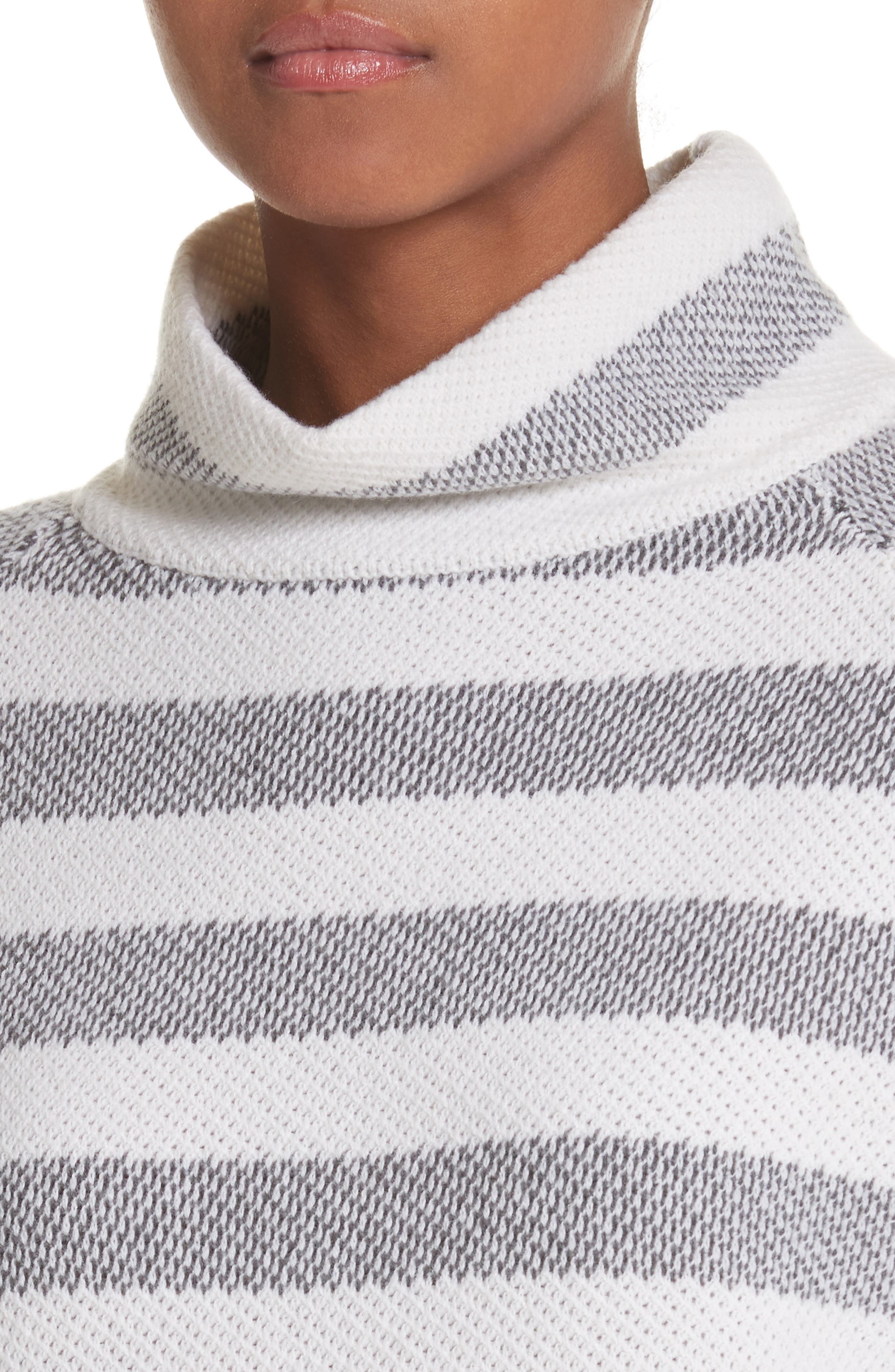 Osvaldo Cashmere Sweater,                             Alternate thumbnail 4, color,                             Medium Grey