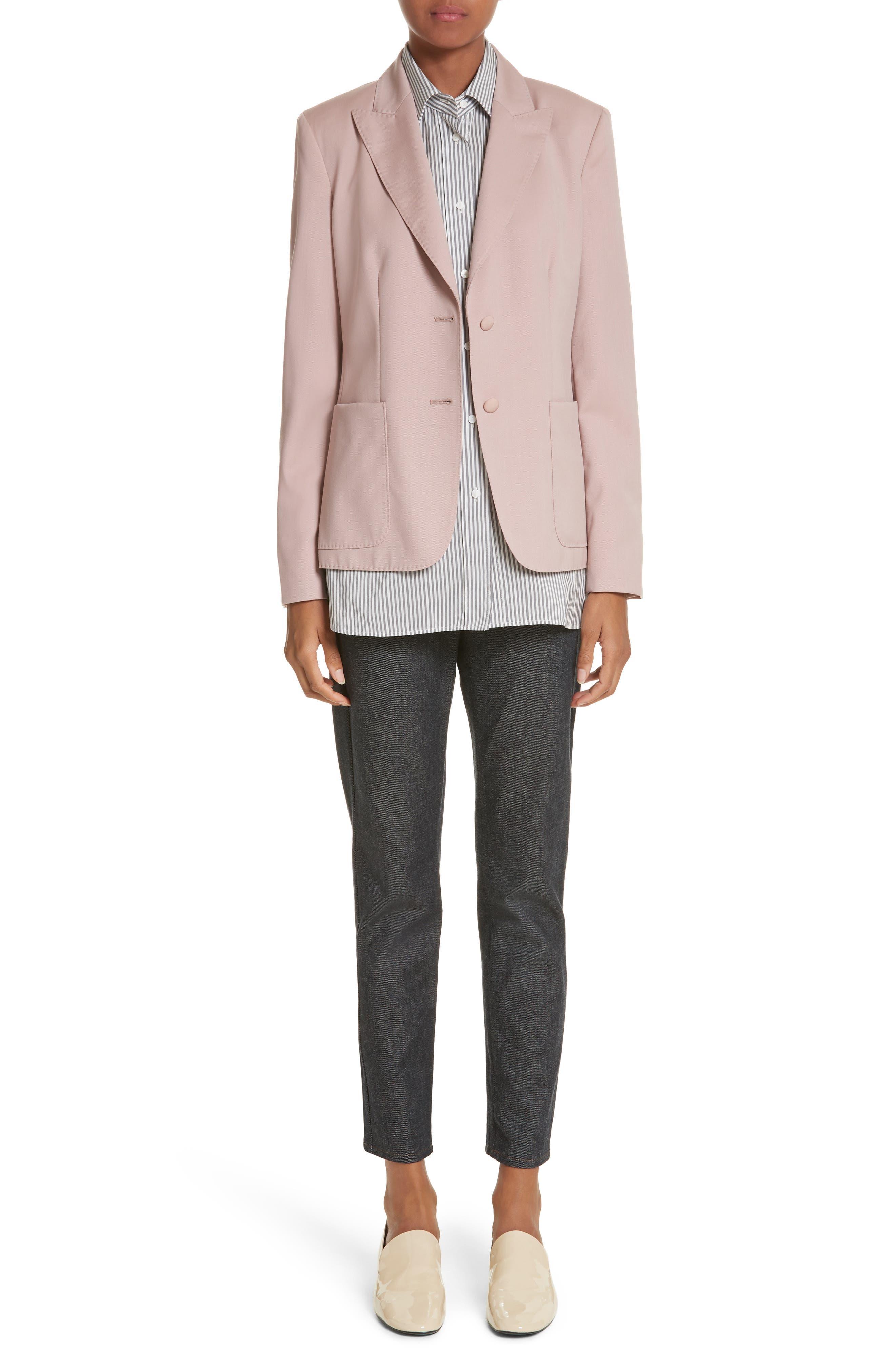 Panaro Wool Jacket,                             Alternate thumbnail 9, color,                             Blush