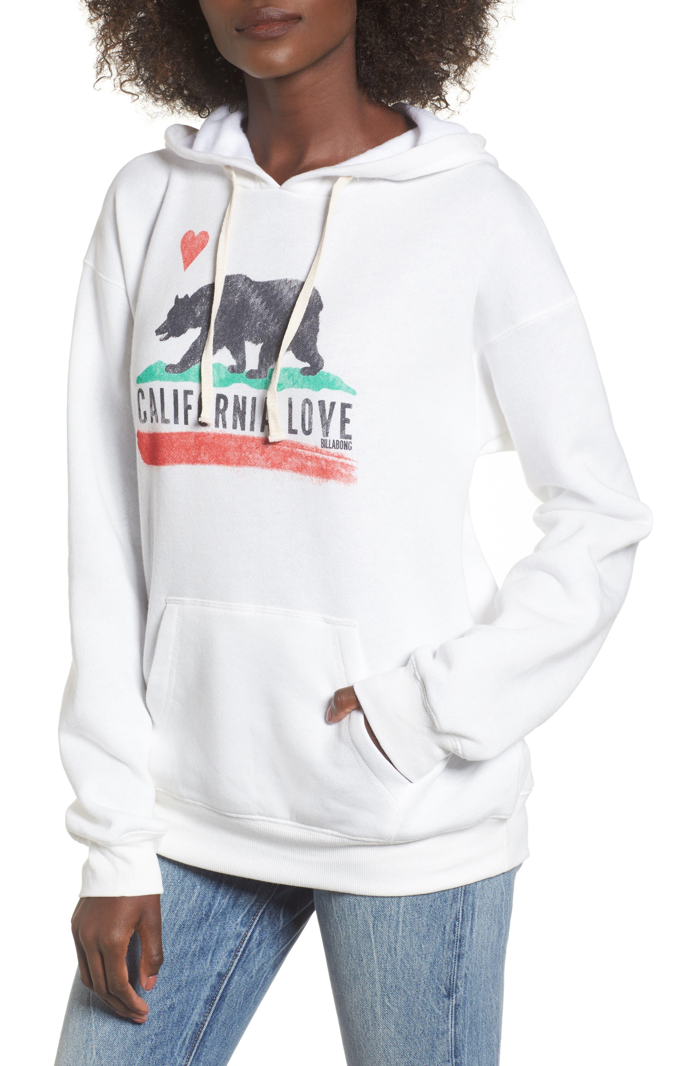Alternate Image 1 Selected - Billabong Cali Bear Hoodie