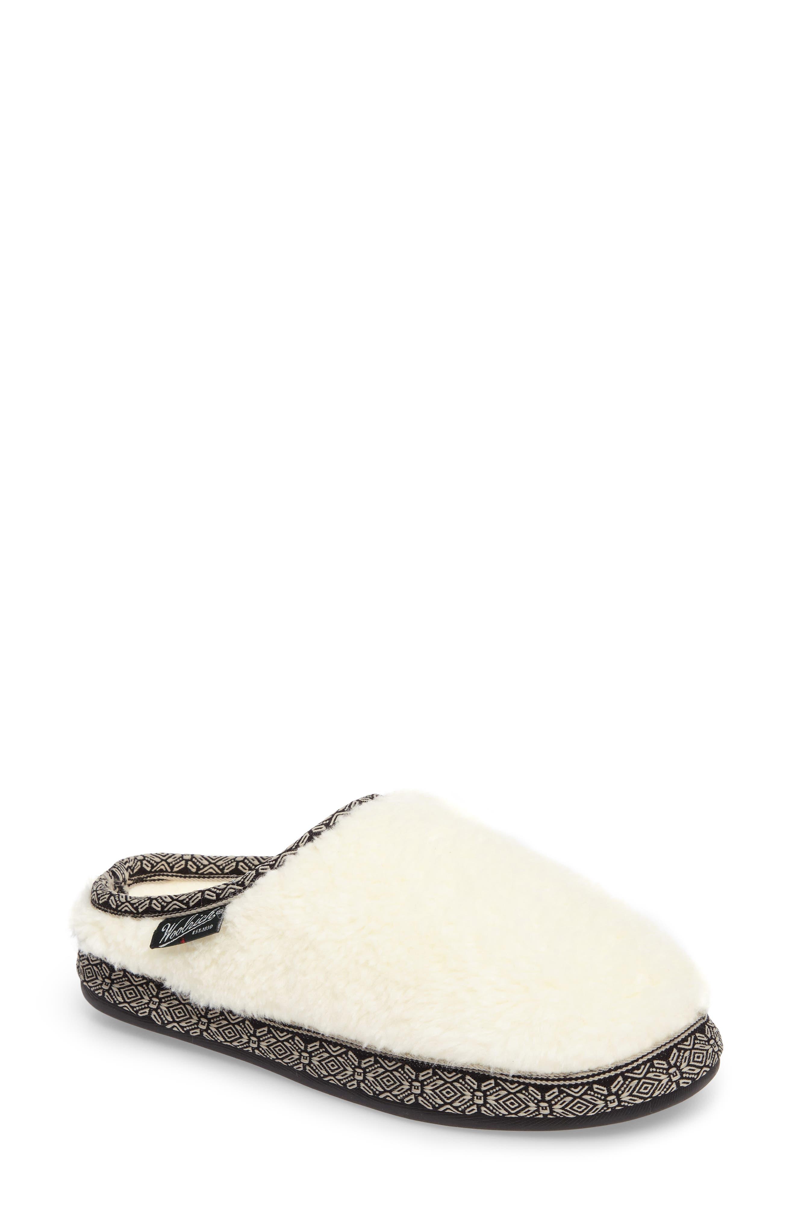 Whitecap Mule Slipper,                         Main,                         color, Creampuff