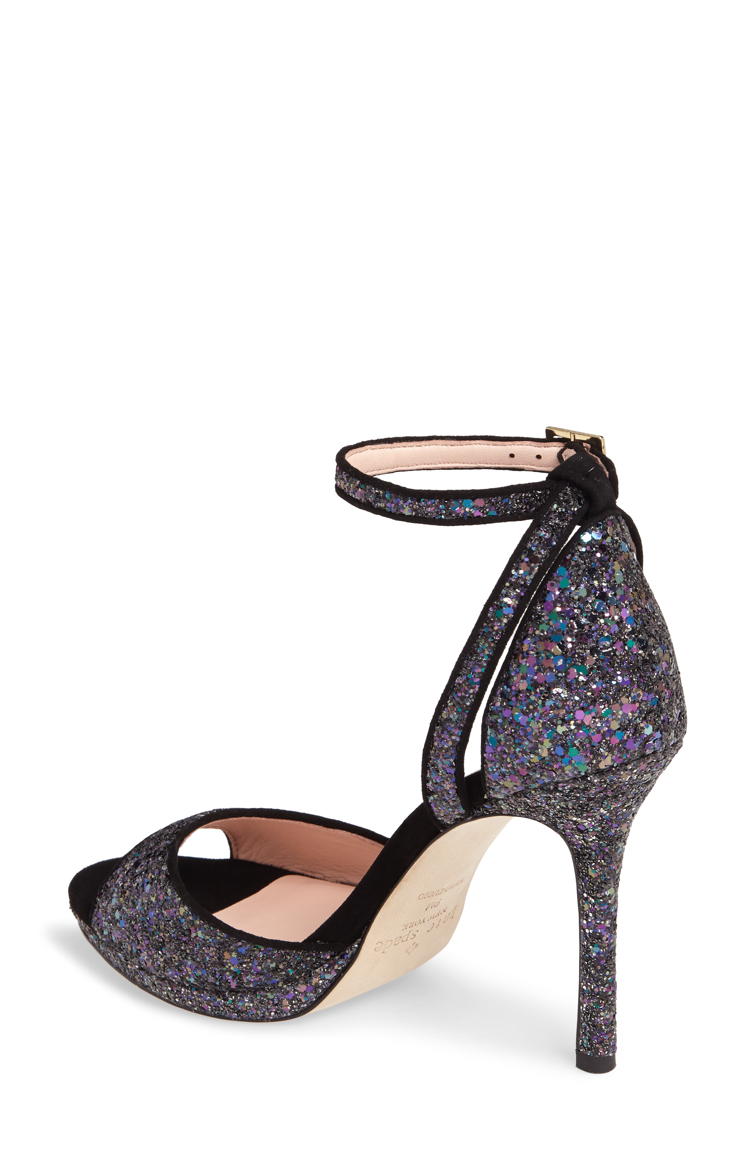 kate spade franklin sandal,                             Alternate thumbnail 2, color,                             Midnight Glitter