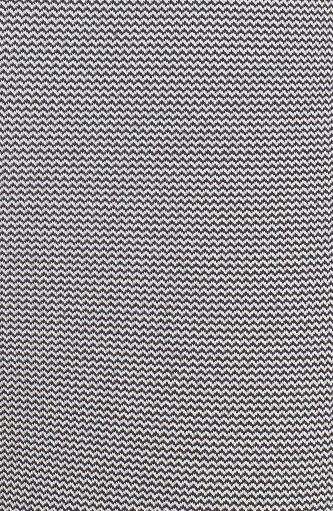 Epic Tights,                             Alternate thumbnail 6, color,                             Black/ White Jacquard