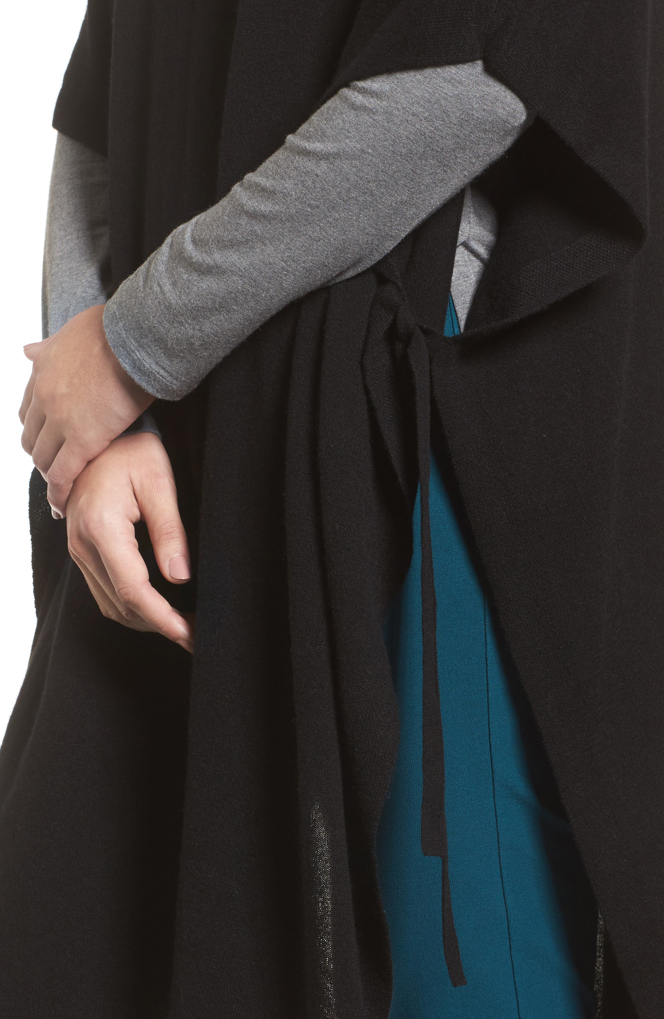 Alternate Image 4  - Eileen Fisher Cashmere Poncho