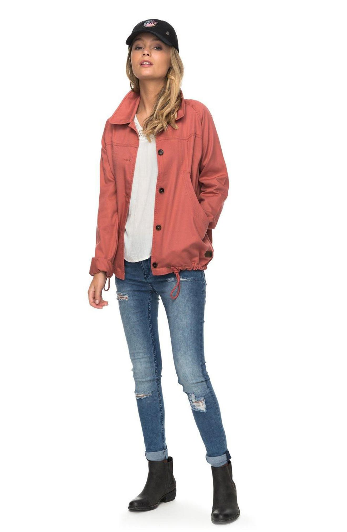 Dream Away Jacket,                             Alternate thumbnail 2, color,                             Dusty Cedar