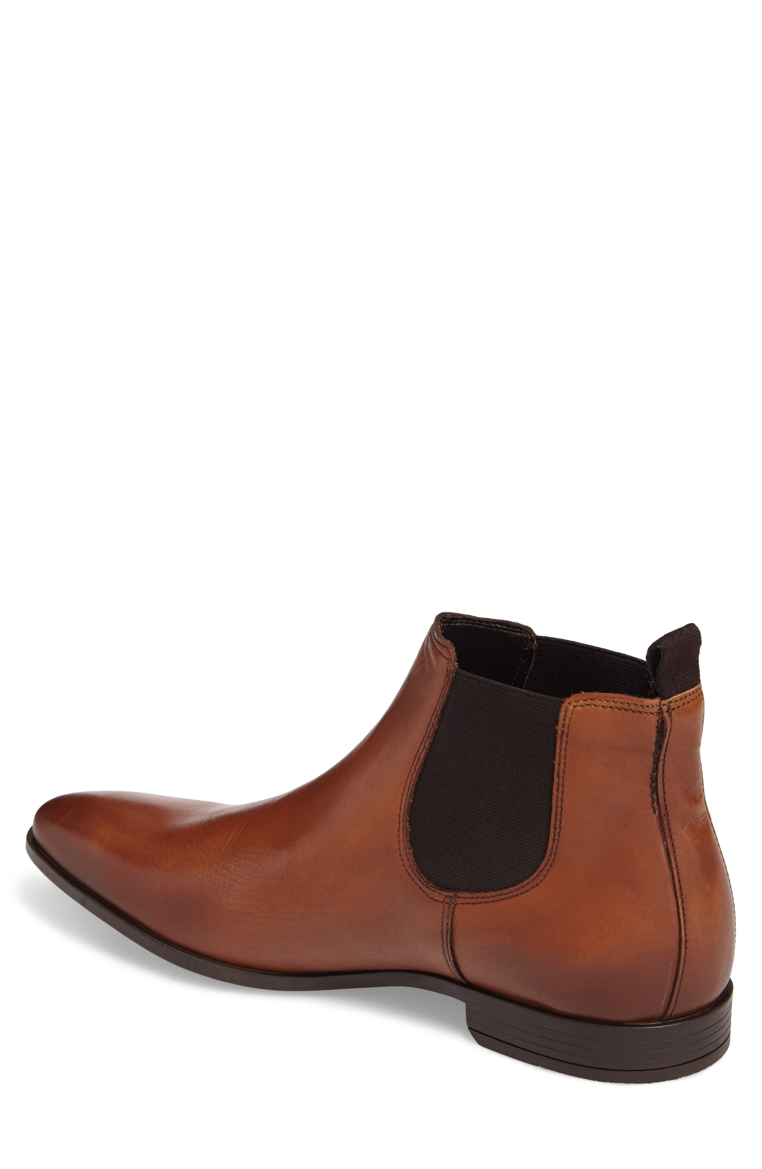 'Canton' Chelsea Boot,                             Alternate thumbnail 2, color,                             Tan Leather