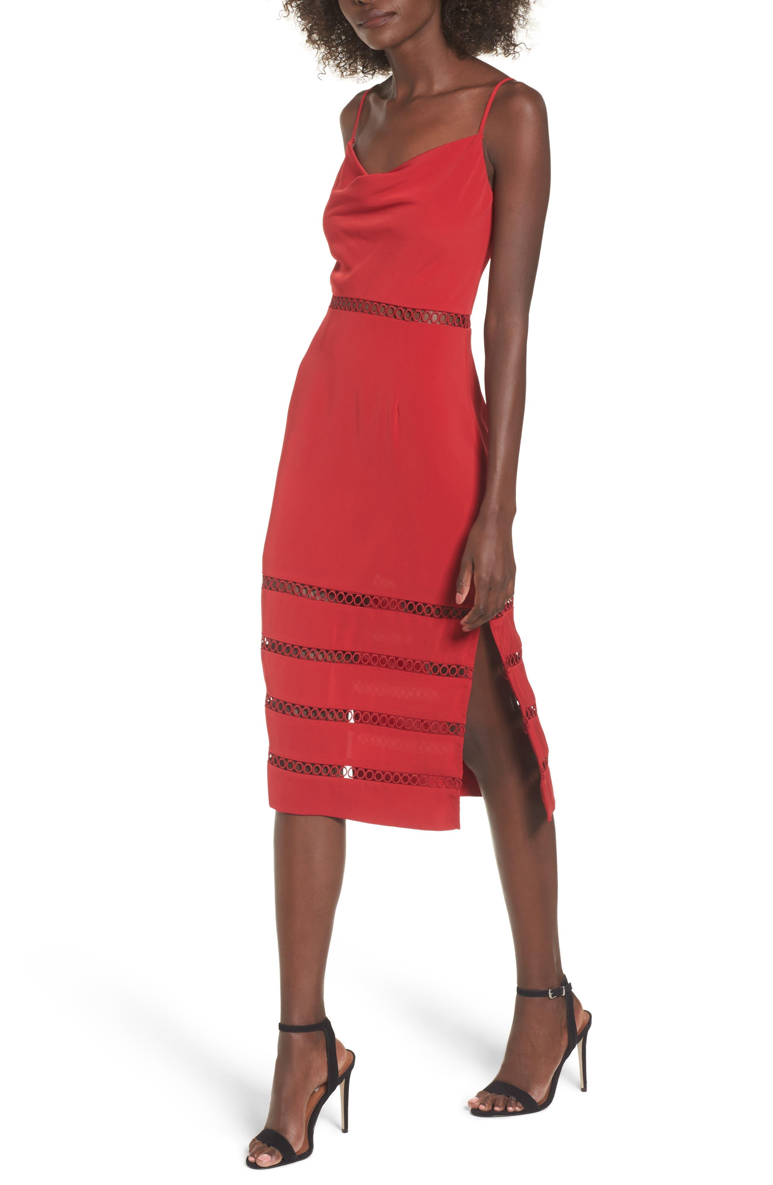 Alternate Image 1 Selected - Keepsake the Label Indugle Cowl Neck Sheath Dress