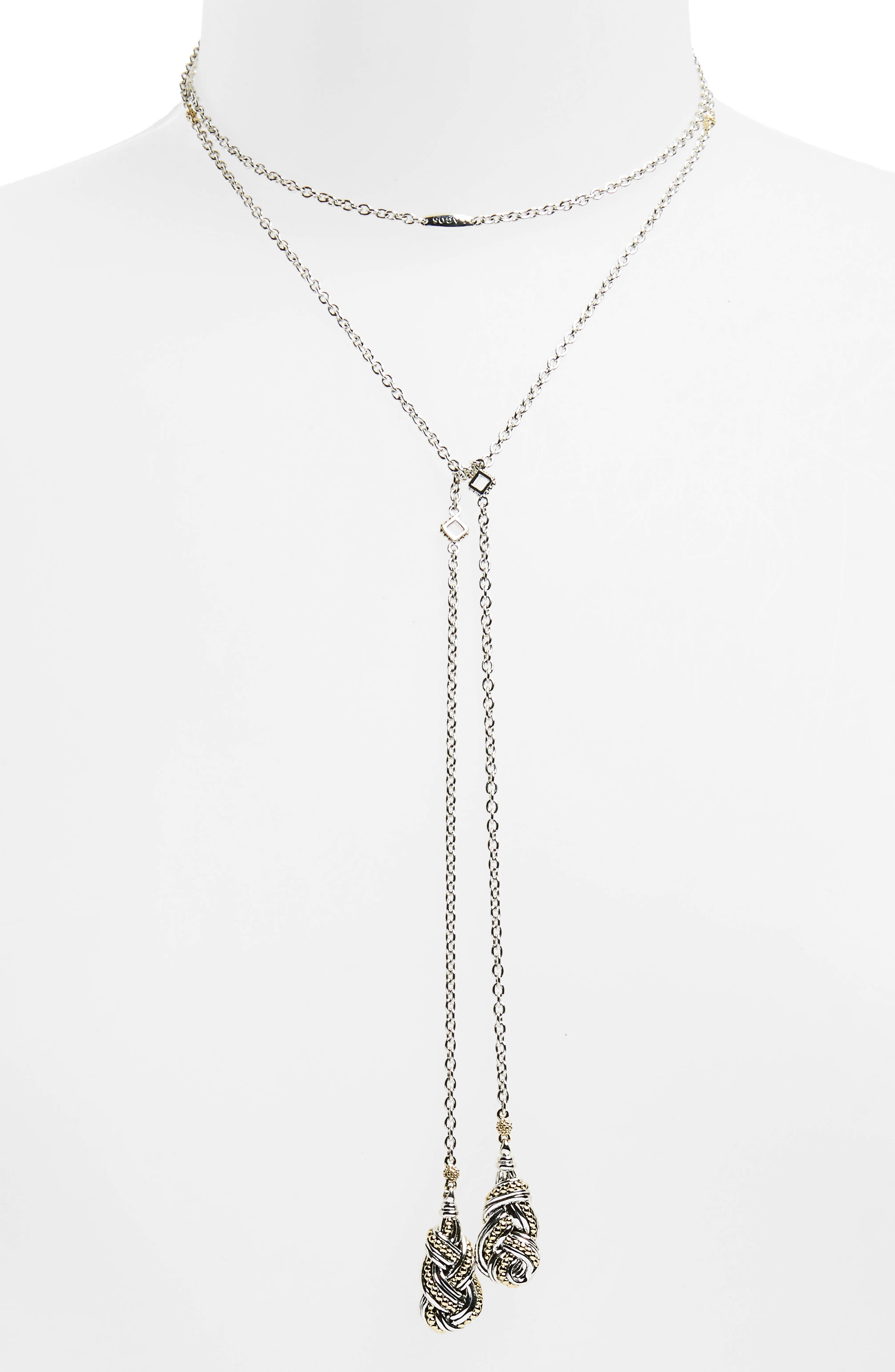 Alternate Image 1 Selected - LAGOS Torsade Lariat Necklace