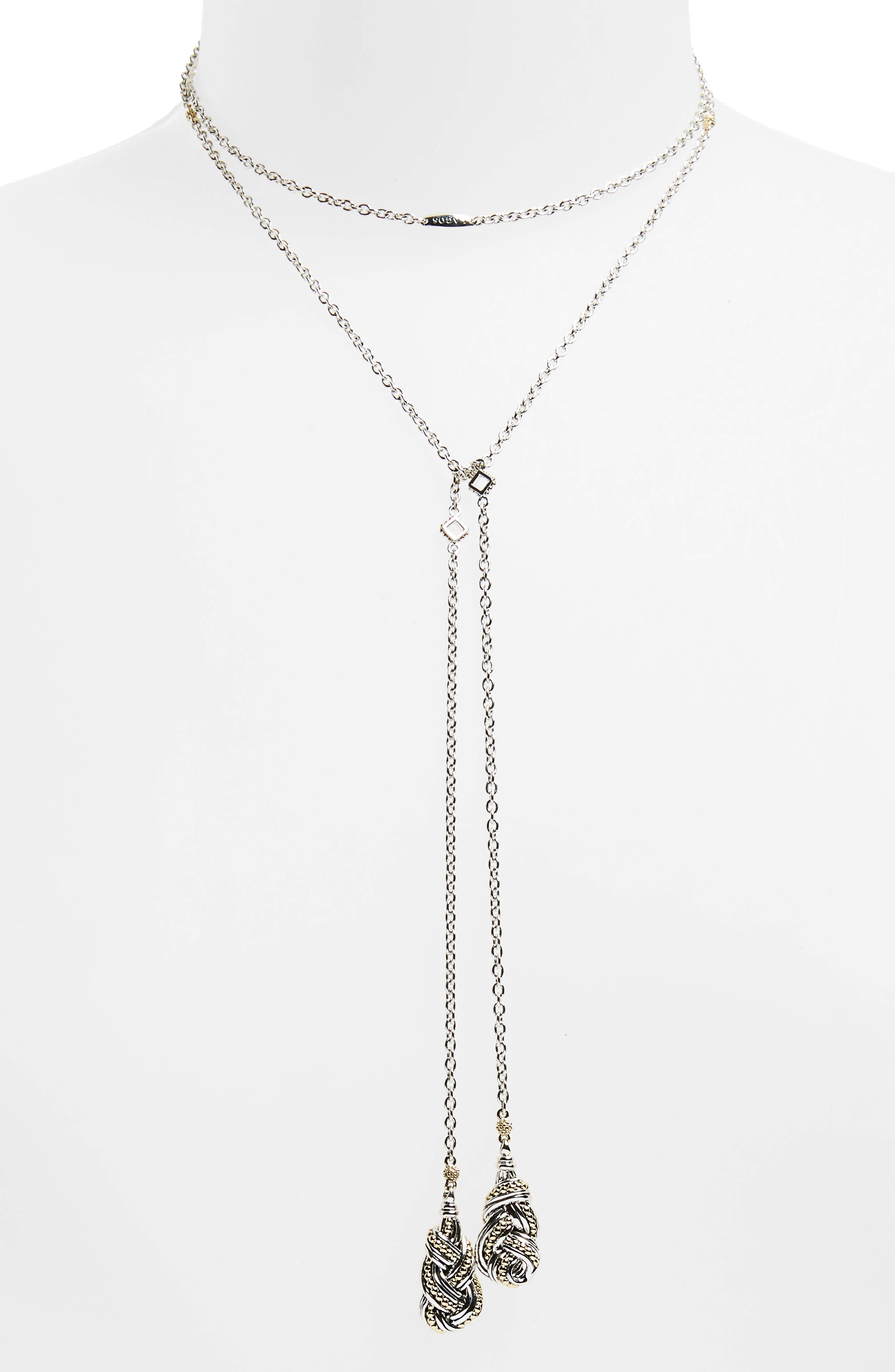 Main Image - LAGOS Torsade Lariat Necklace